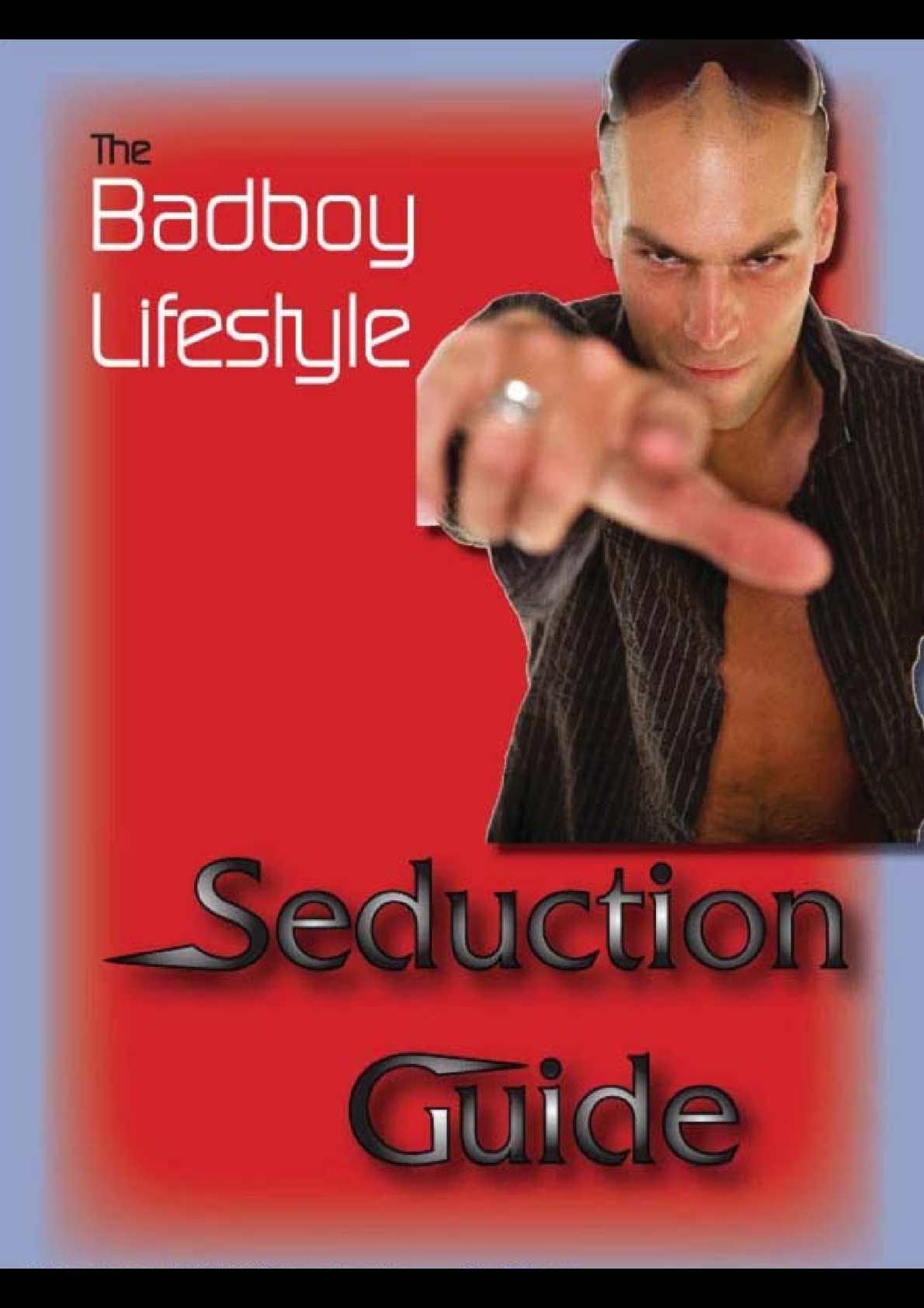 Badboy Lifestyle - Csábítási Útmutató
