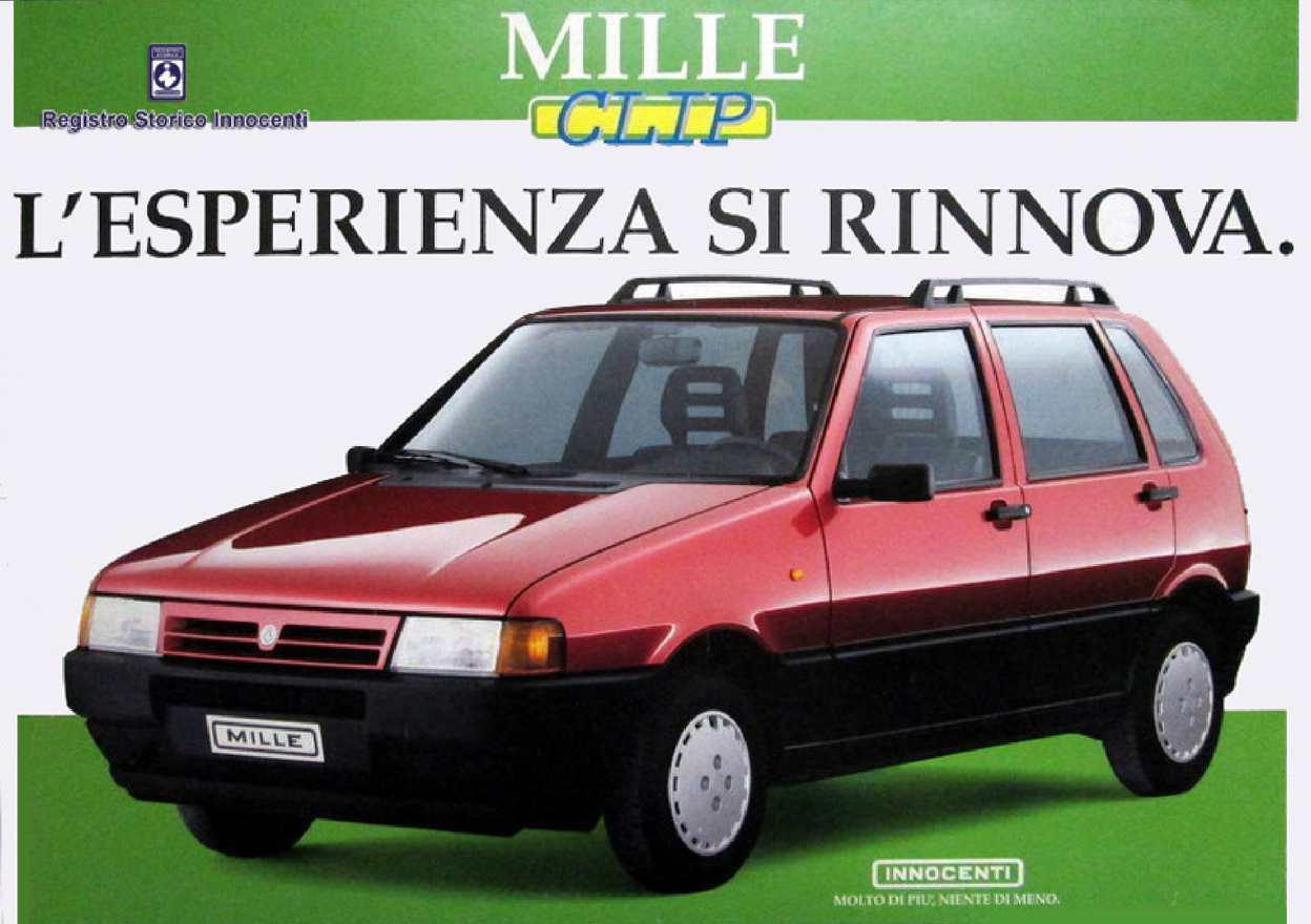 1995 Brochure Mille Clip