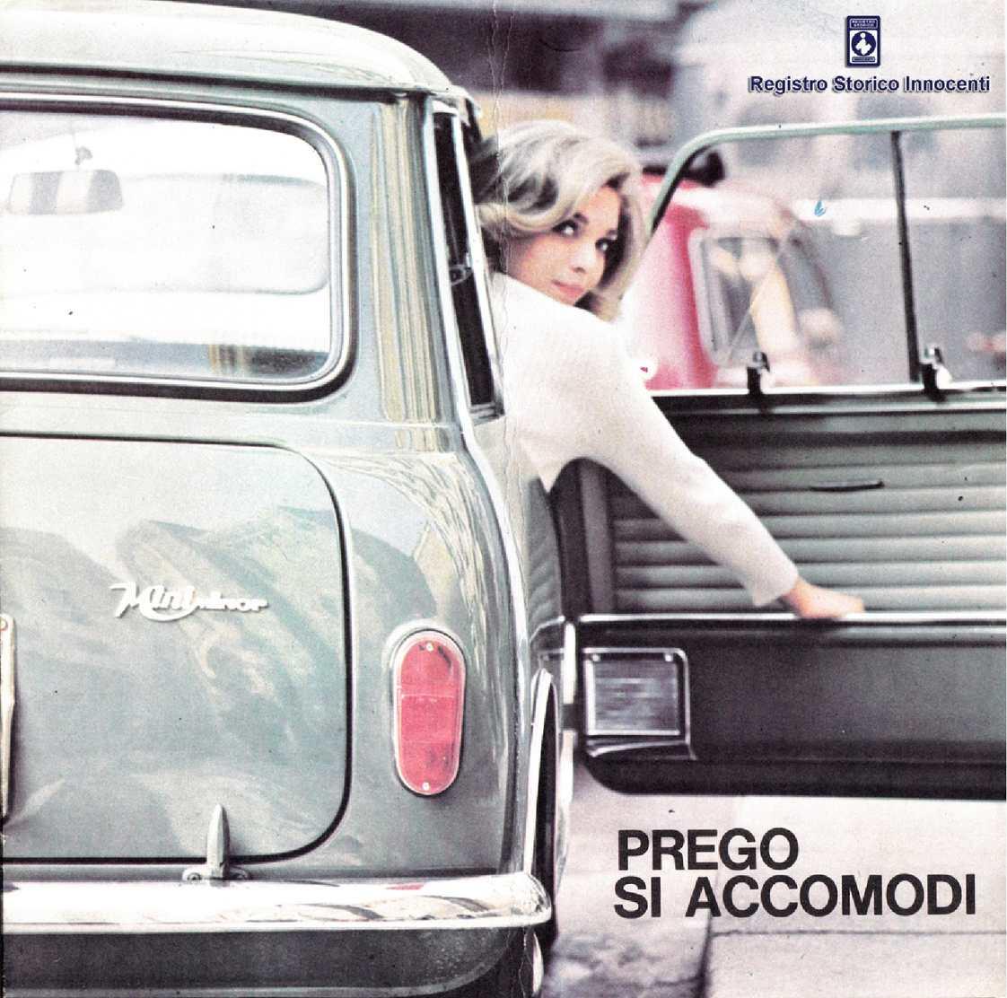 1965 Brochure Mini Minor 850