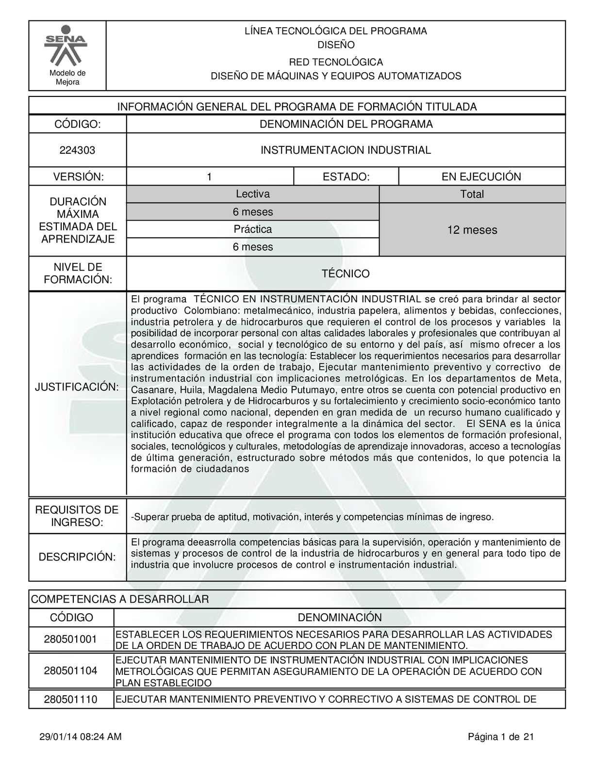 Calaméo - TÉCNICO EN INSTRUMENTACIÓN INDUSTRIAL