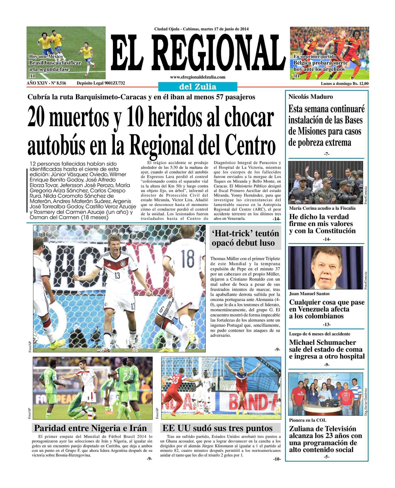 Calaméo - EL Regional del Zulia 17-06-2014