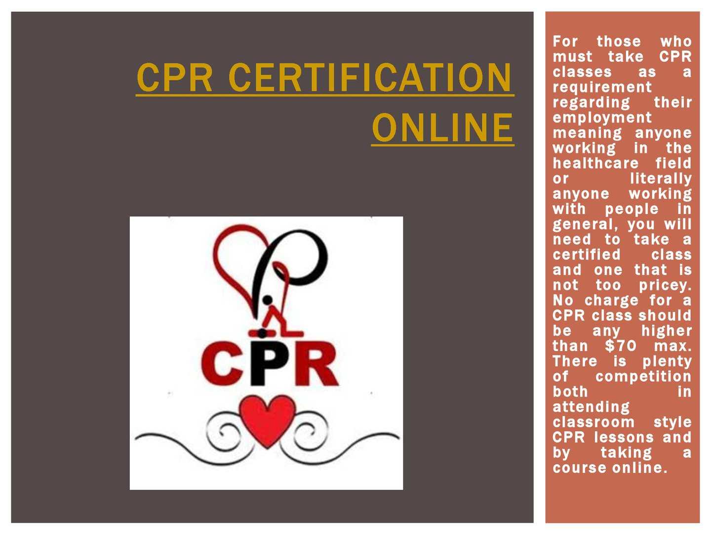 Calamo Cpr Certification Online