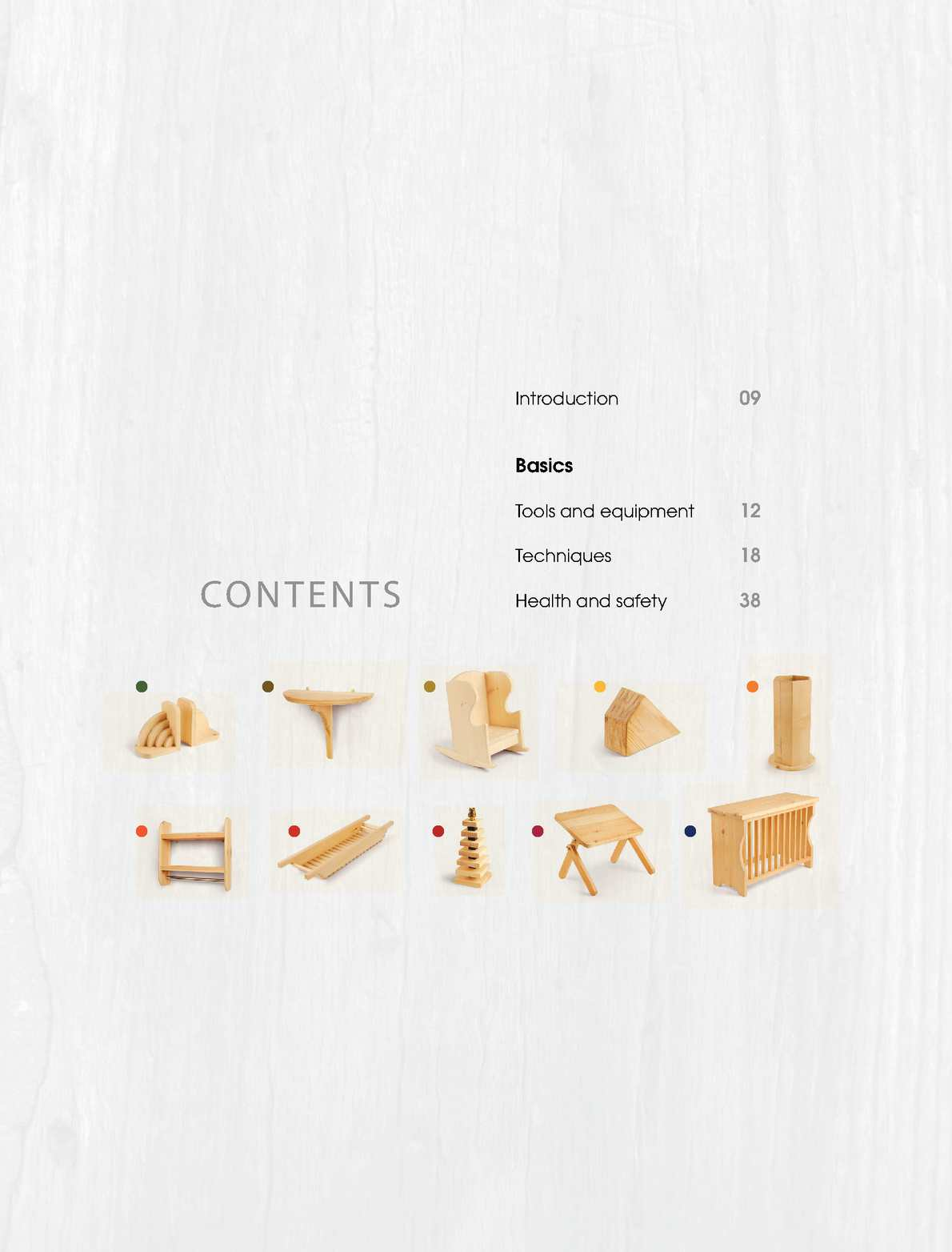 071435 One Board Woodworking Projects Preview