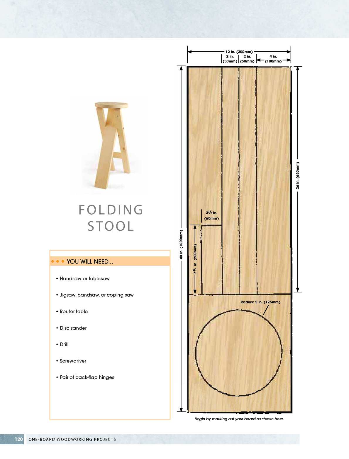 071435 One Board Woodworking Projects Preview Calameo