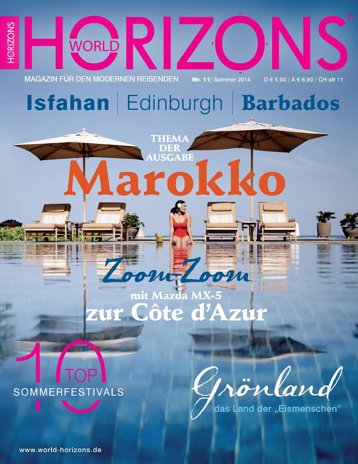 World Horizons  |  Nummer 11  |  Sommer 2014