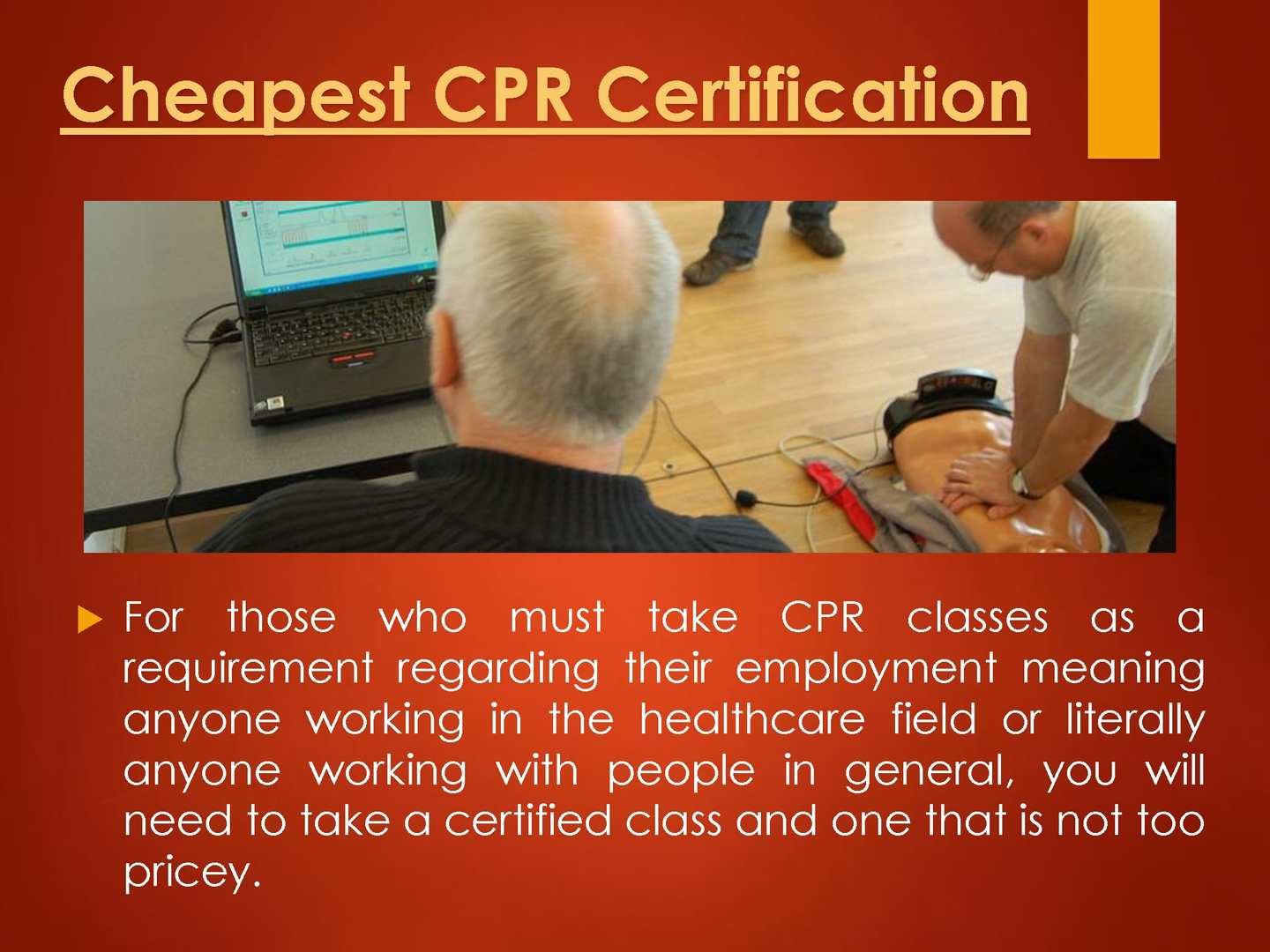 Calamo Cpr First Aid Certification