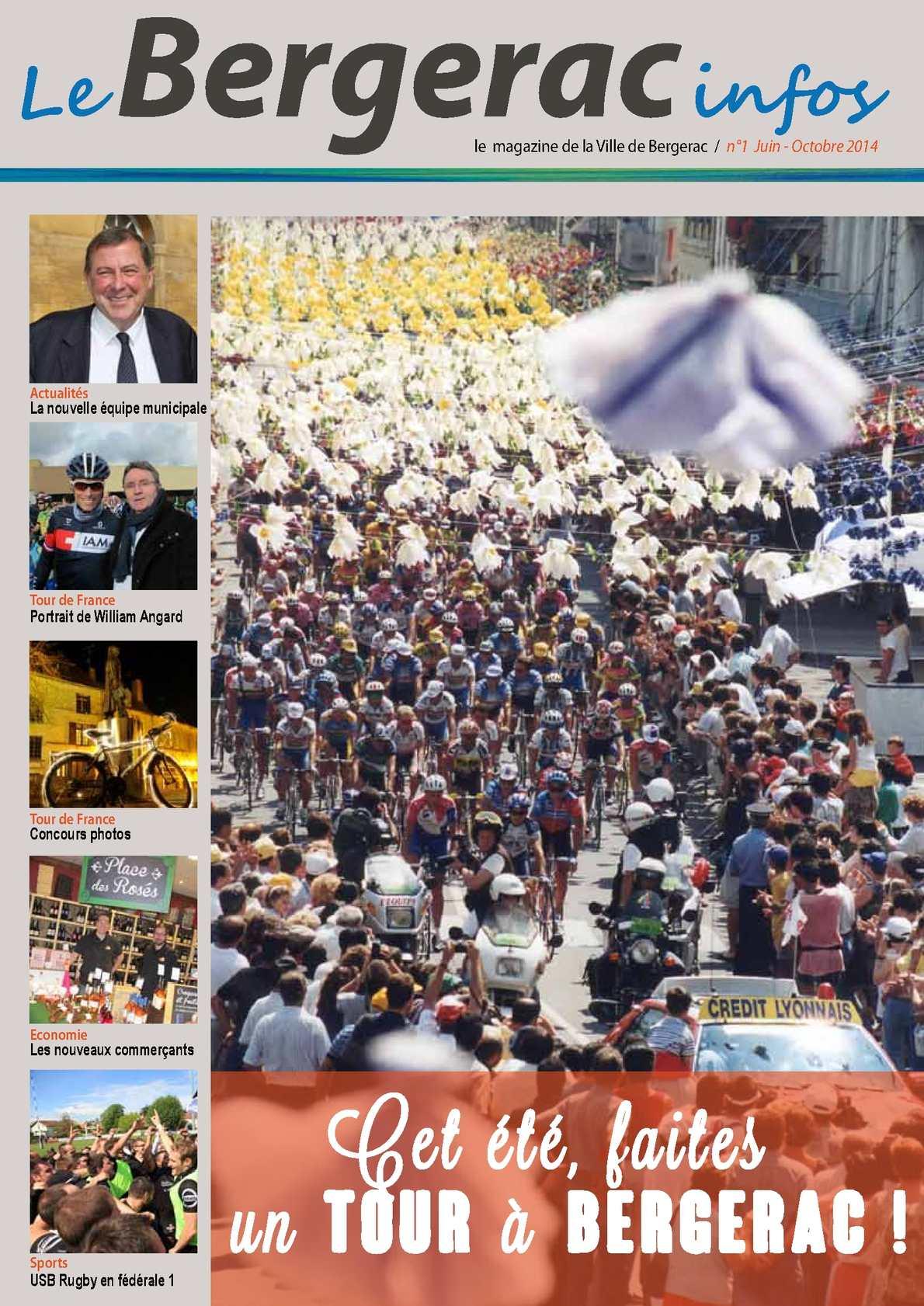 Calam o le bergerac infos n 1 for Piscine municipale bergerac