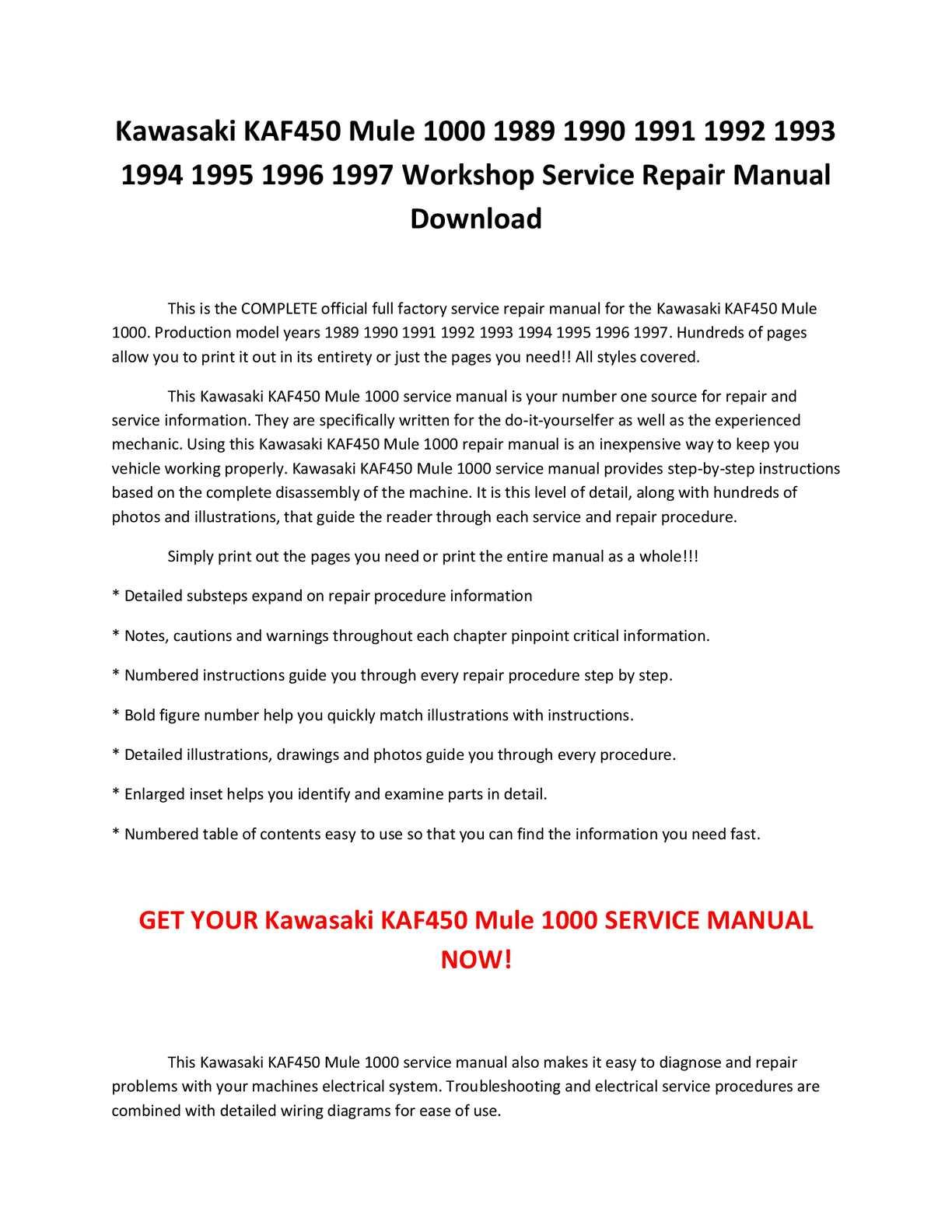 calaméo kawasaki kaf450 mule 1000 1989 1990 1991 1992 1993 1994 calaméo kawasaki kaf450 mule 1000 1989 1990 1991 1992 1993 1994 1995 1996 1997 service repair manual pdf