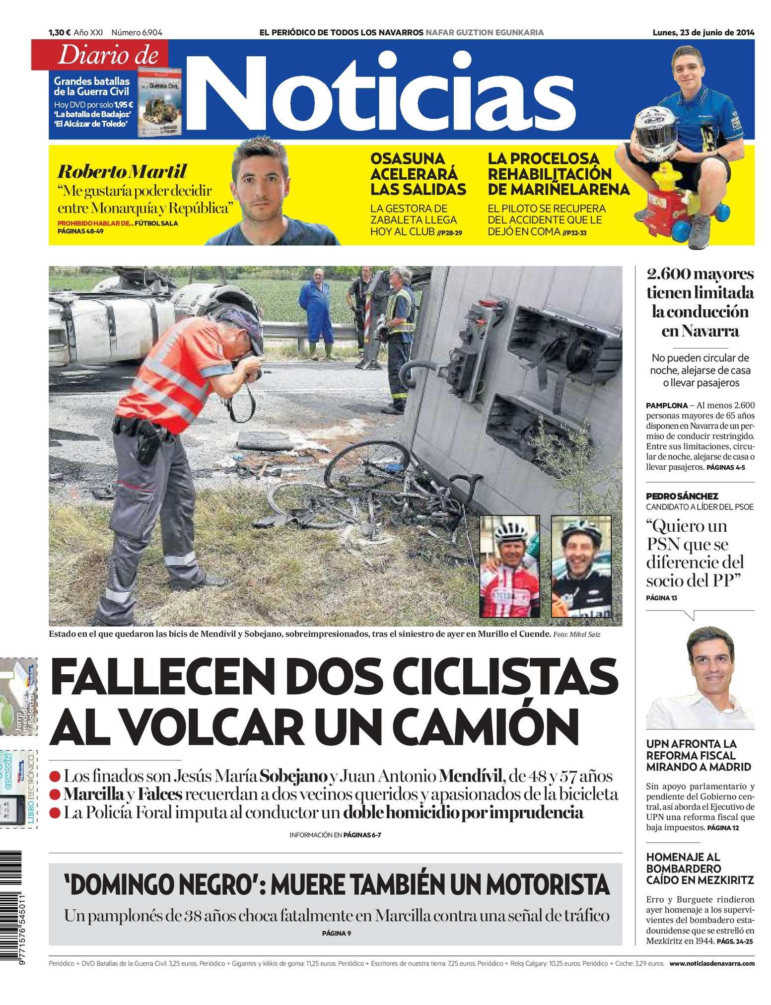 Calaméo - Diario de Noticias 20140623 6d5765402a0fa