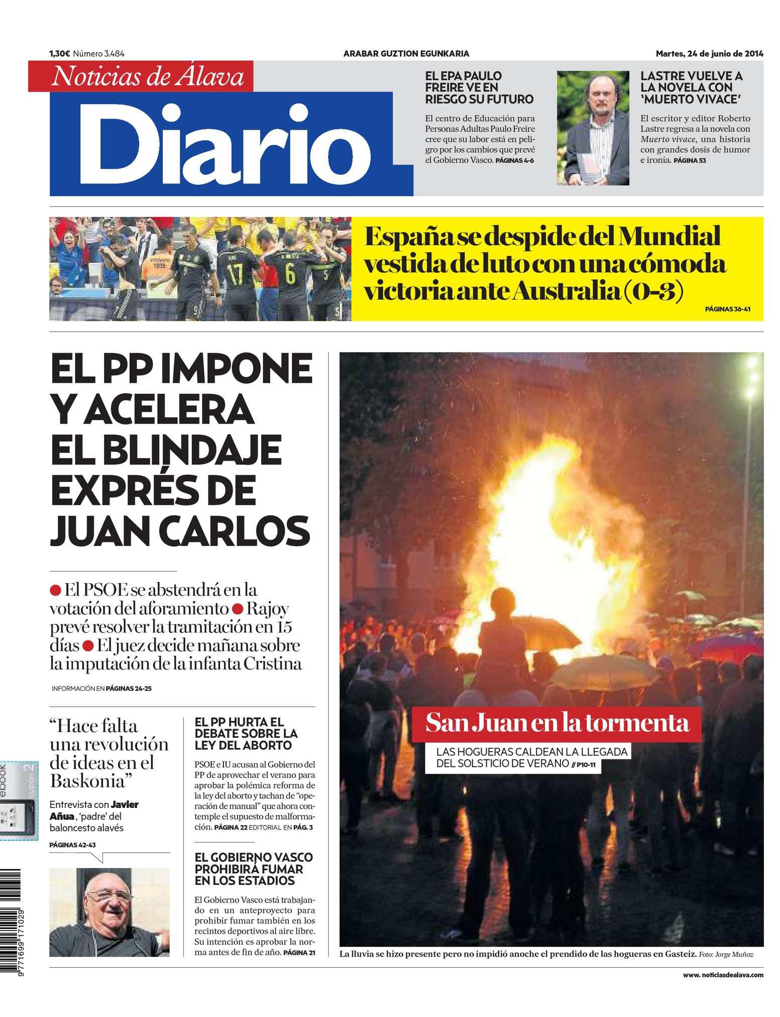 Diario de Noticias de Álava 20140624