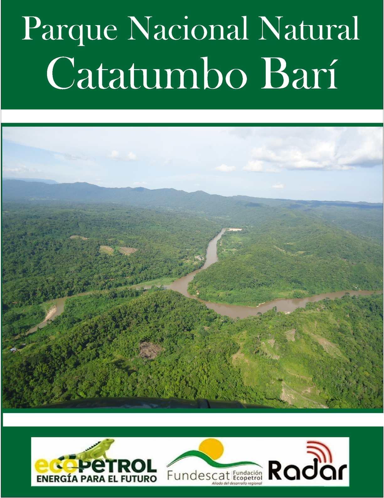Parque Nacional Natural Catatumbo Barí