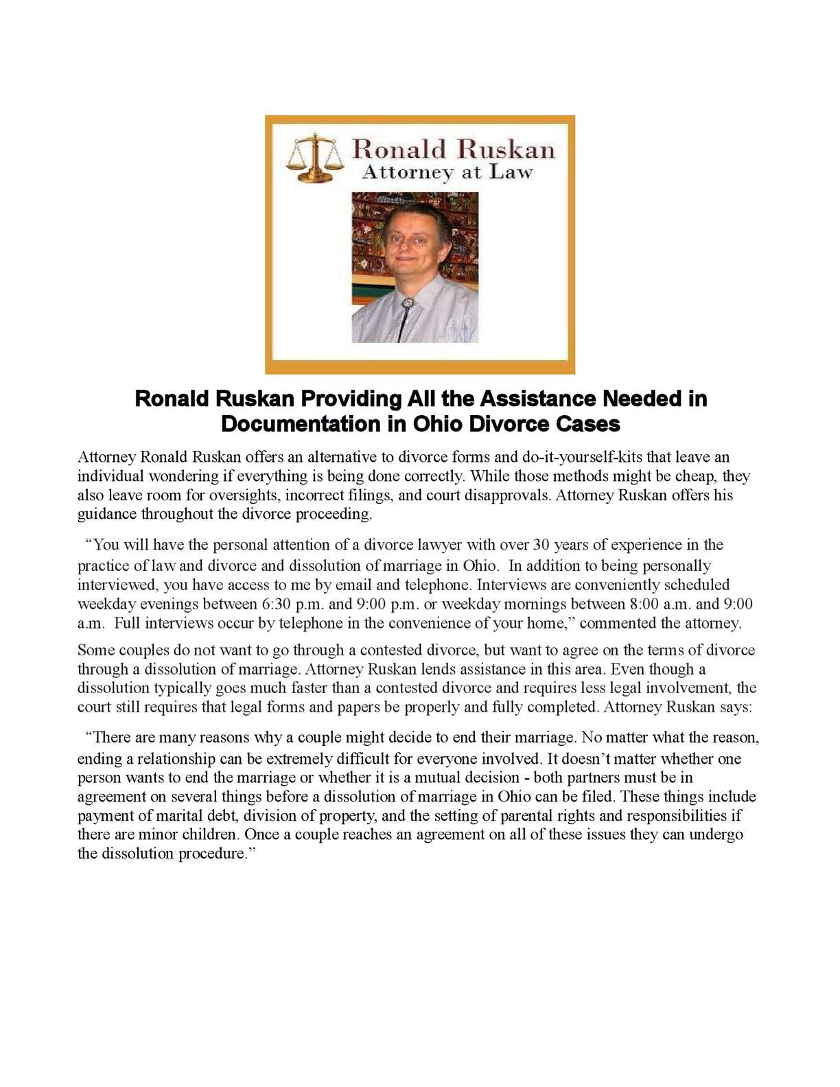 Calamo ronald ruskan providing all the assistance needed in calamo ronald ruskan providing all the assistance needed in documentation in ohio divorce cases solutioingenieria Images