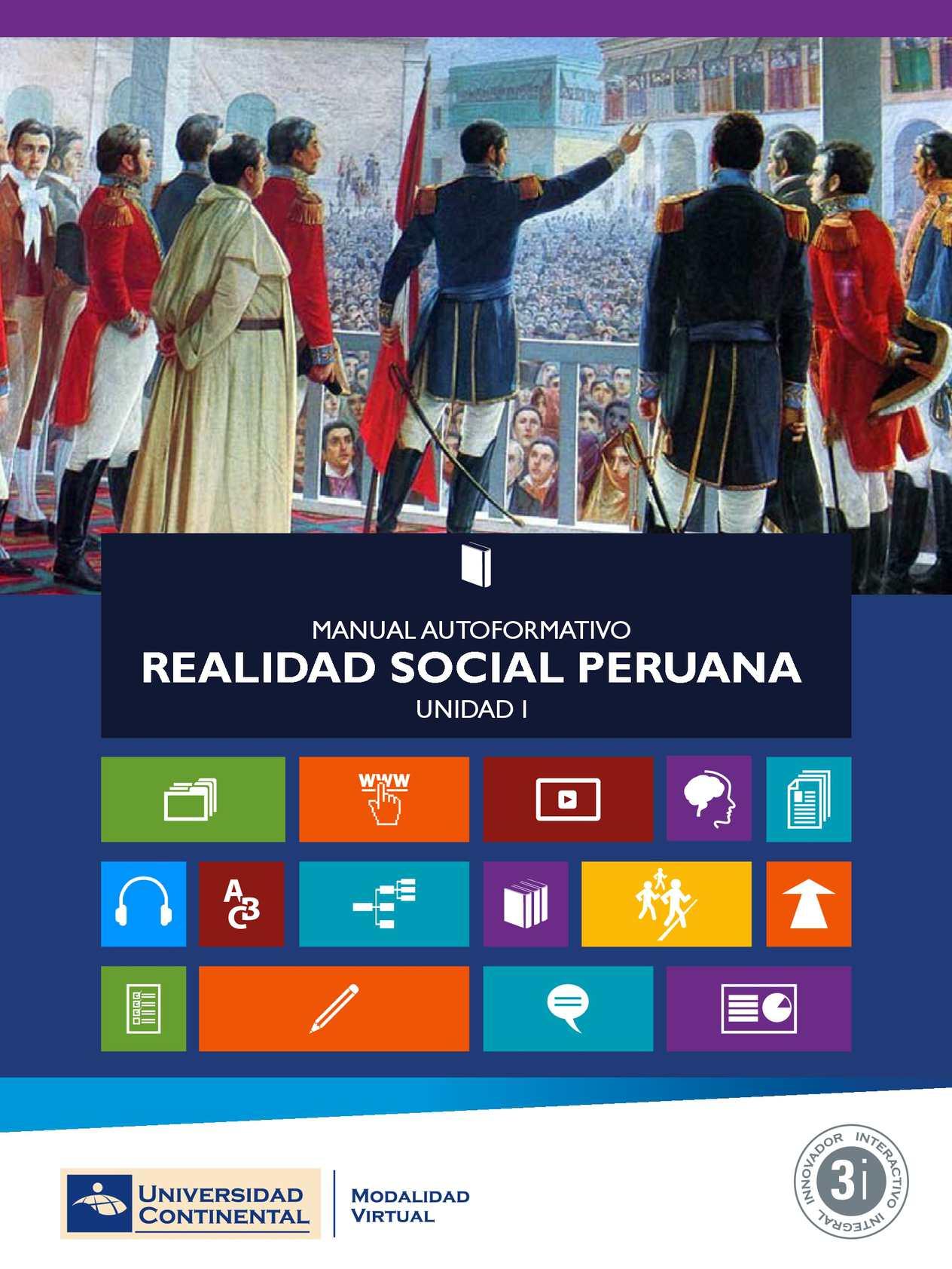 MAI- Realidad Social Peruana 1d4