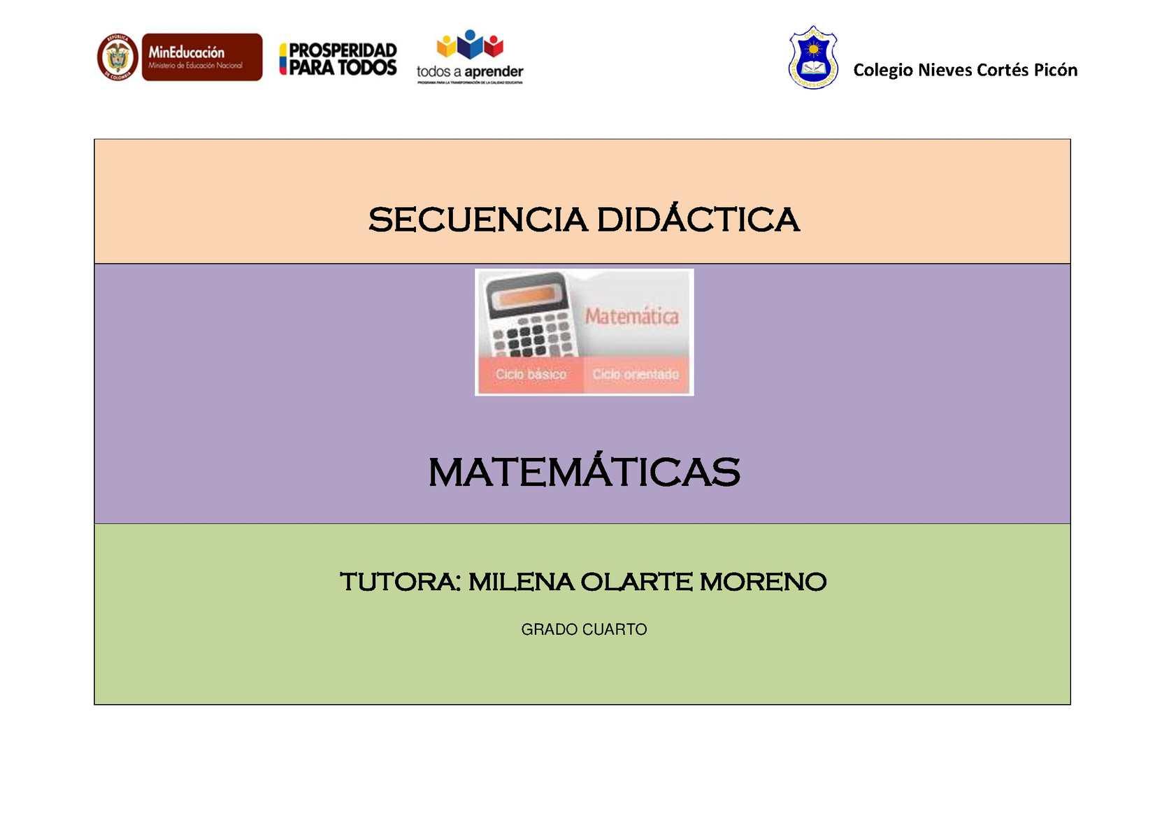 Calaméo - Fracciones Grado 4°