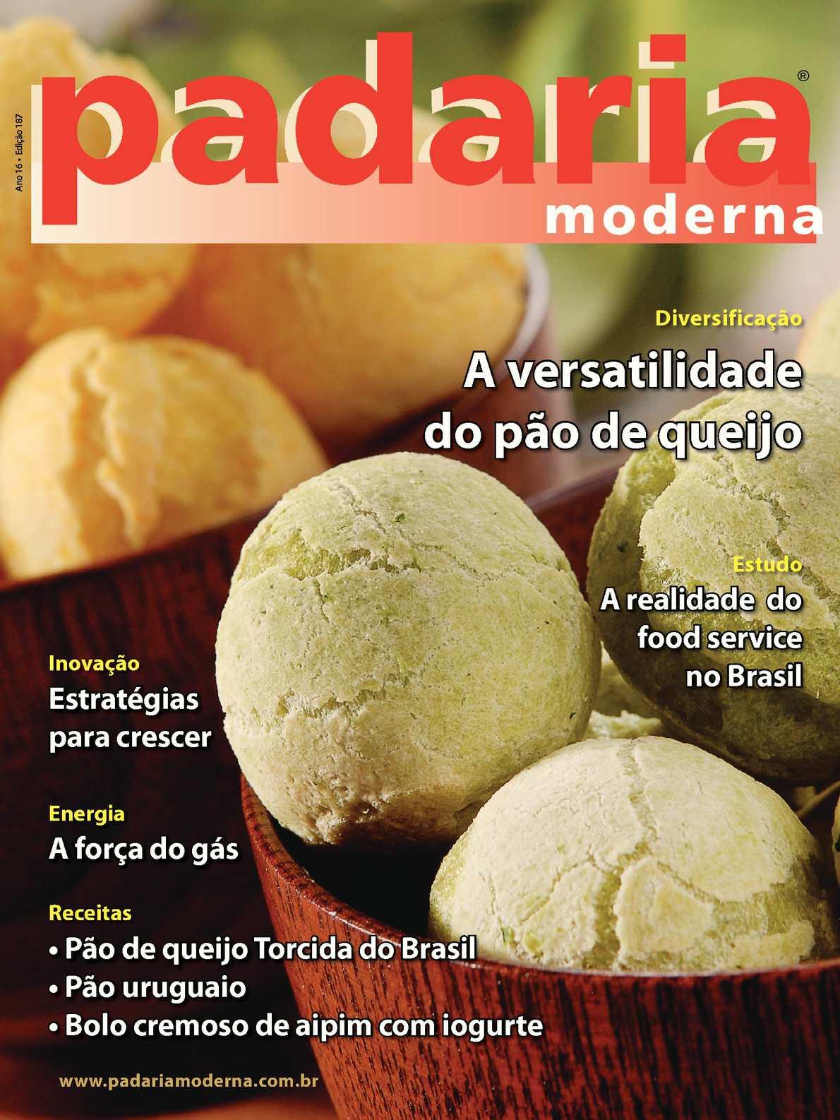 Revista Padaria Moderna - Edição 187