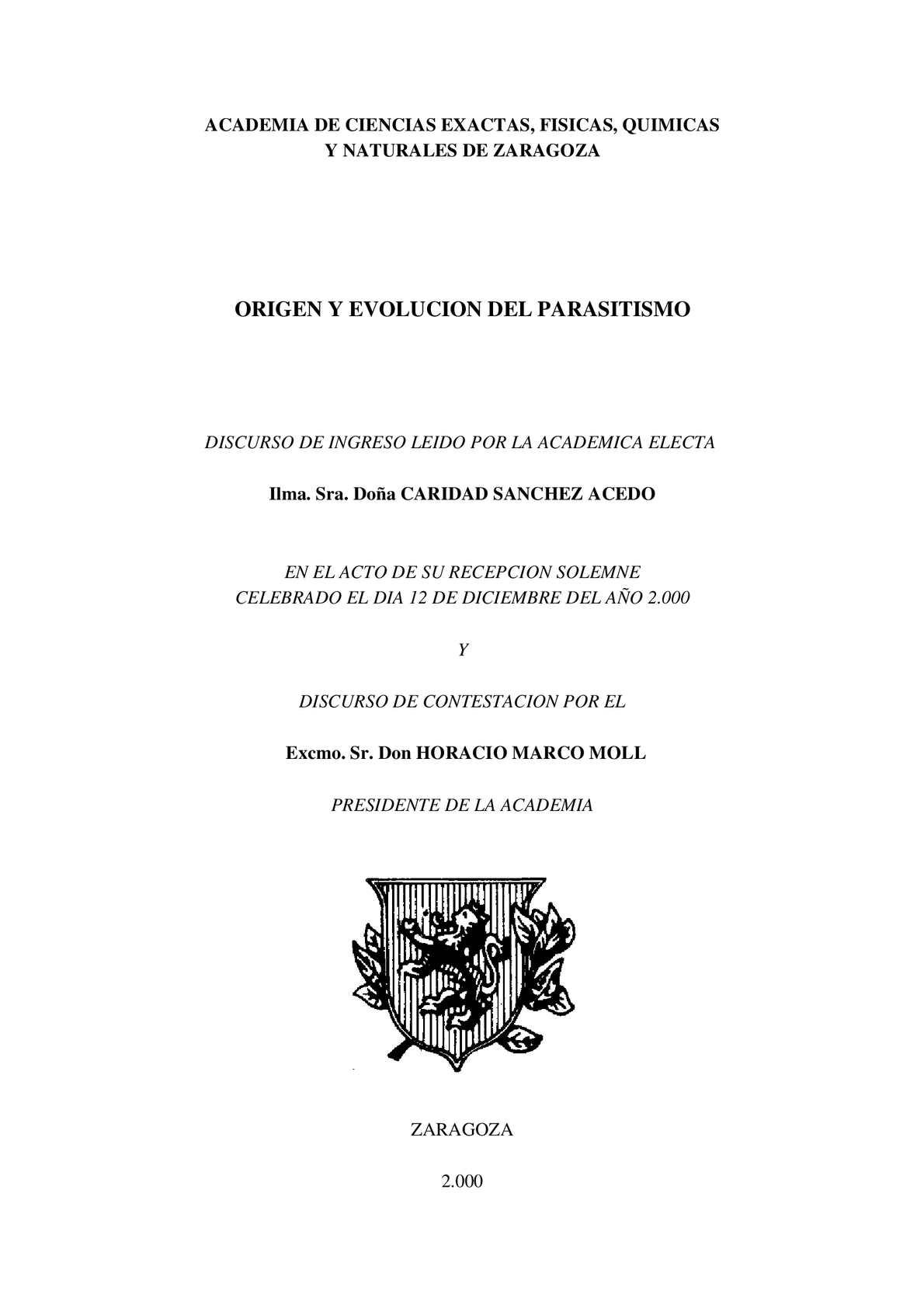 Calaméo - origen de los parasitos