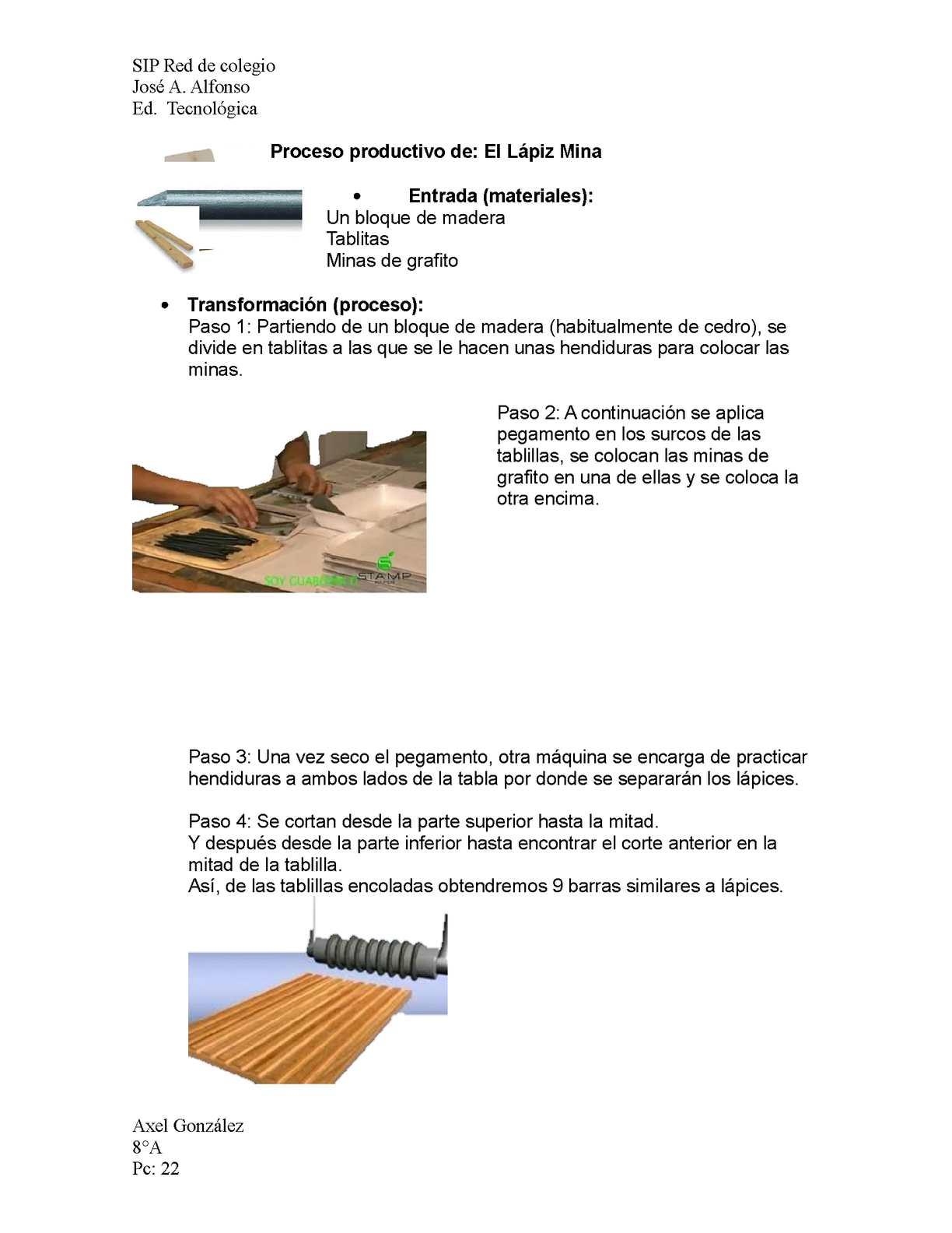 Calam o proceso productivo del lapiz - Como se aplica el microcemento paso a paso ...