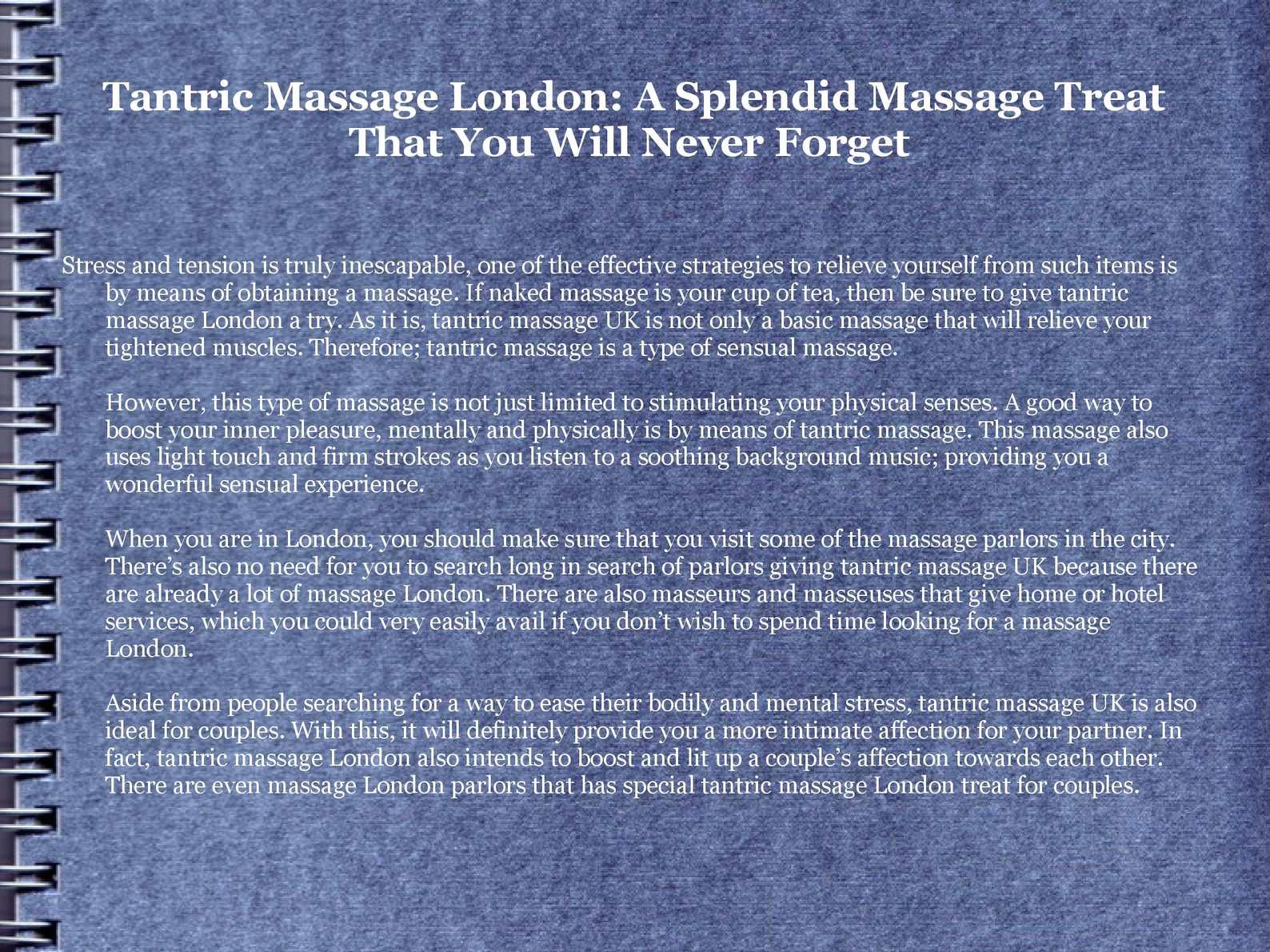 Busty massage parlor