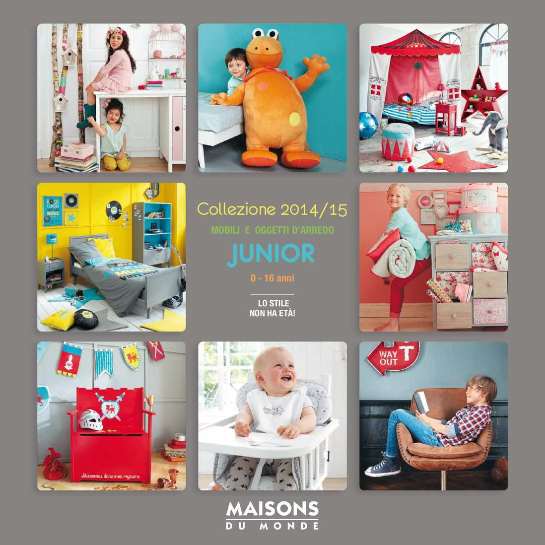 calam o catalogo maison du monde junior 2014 2015. Black Bedroom Furniture Sets. Home Design Ideas