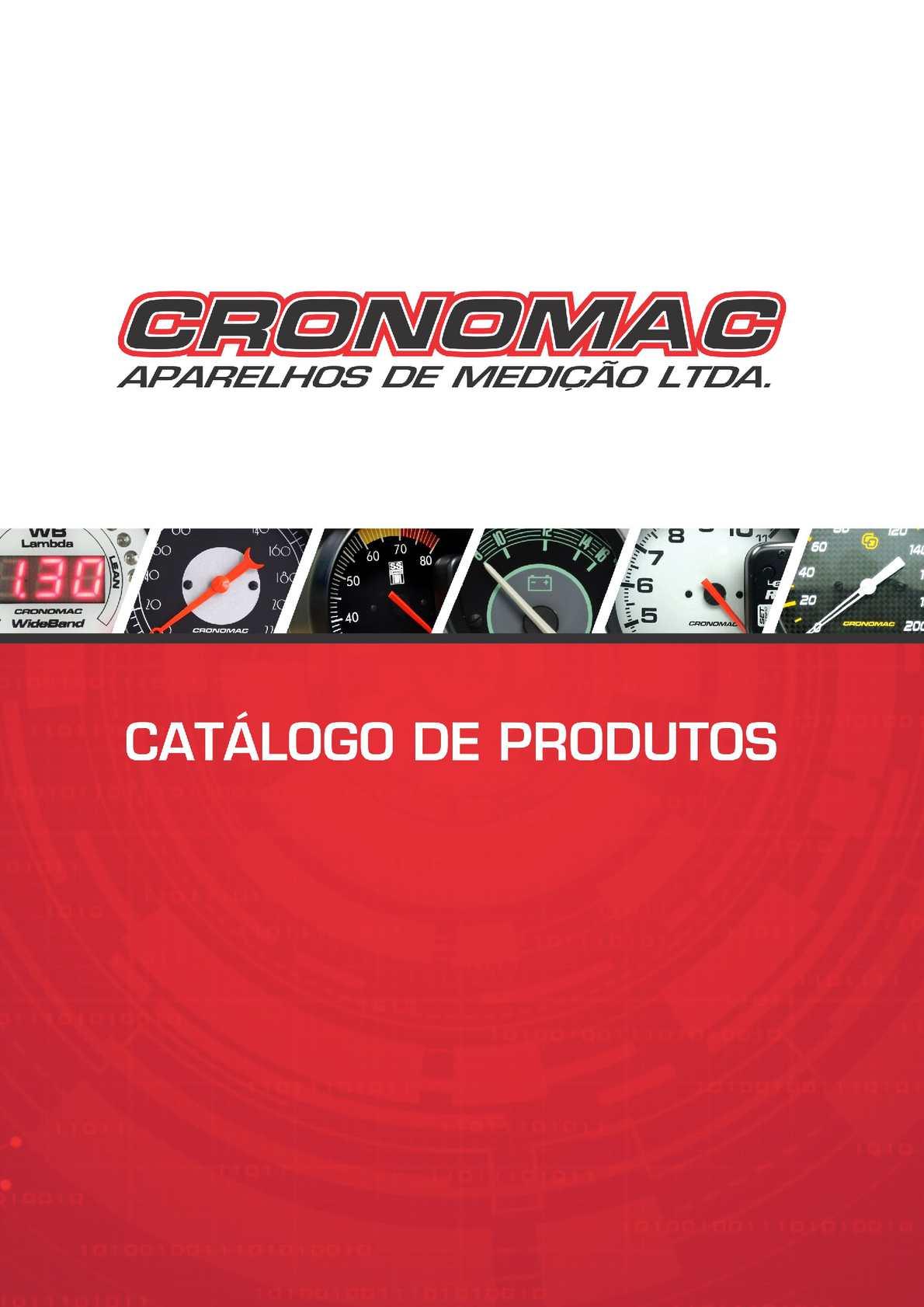 Cronomac Catálogo