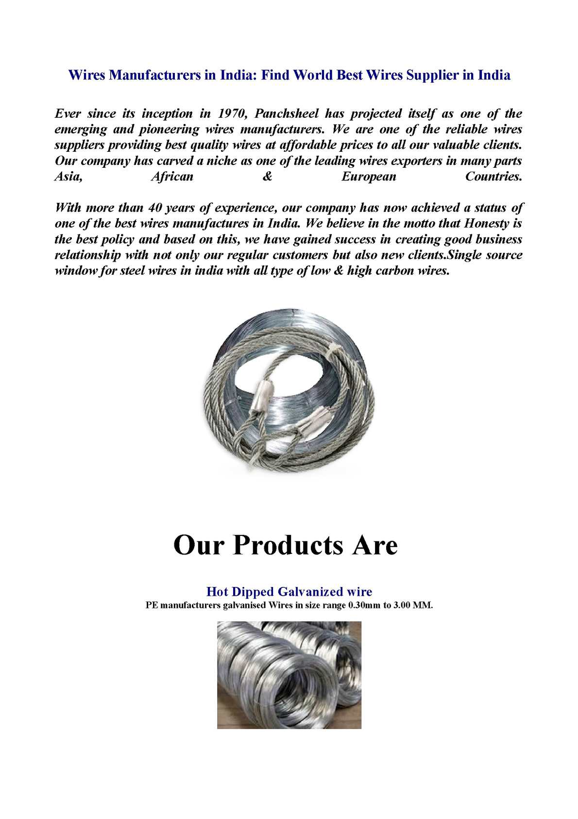 Calamo Wires Manufacturers In India Find World Best Types Of Wiring System Supplier