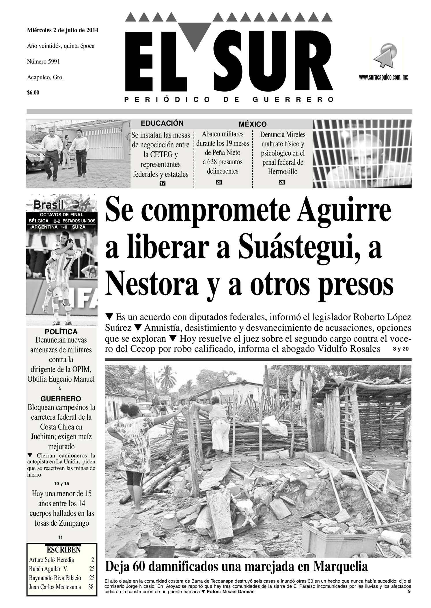 Calaméo - El Sur Miércoles 02072014.pdf