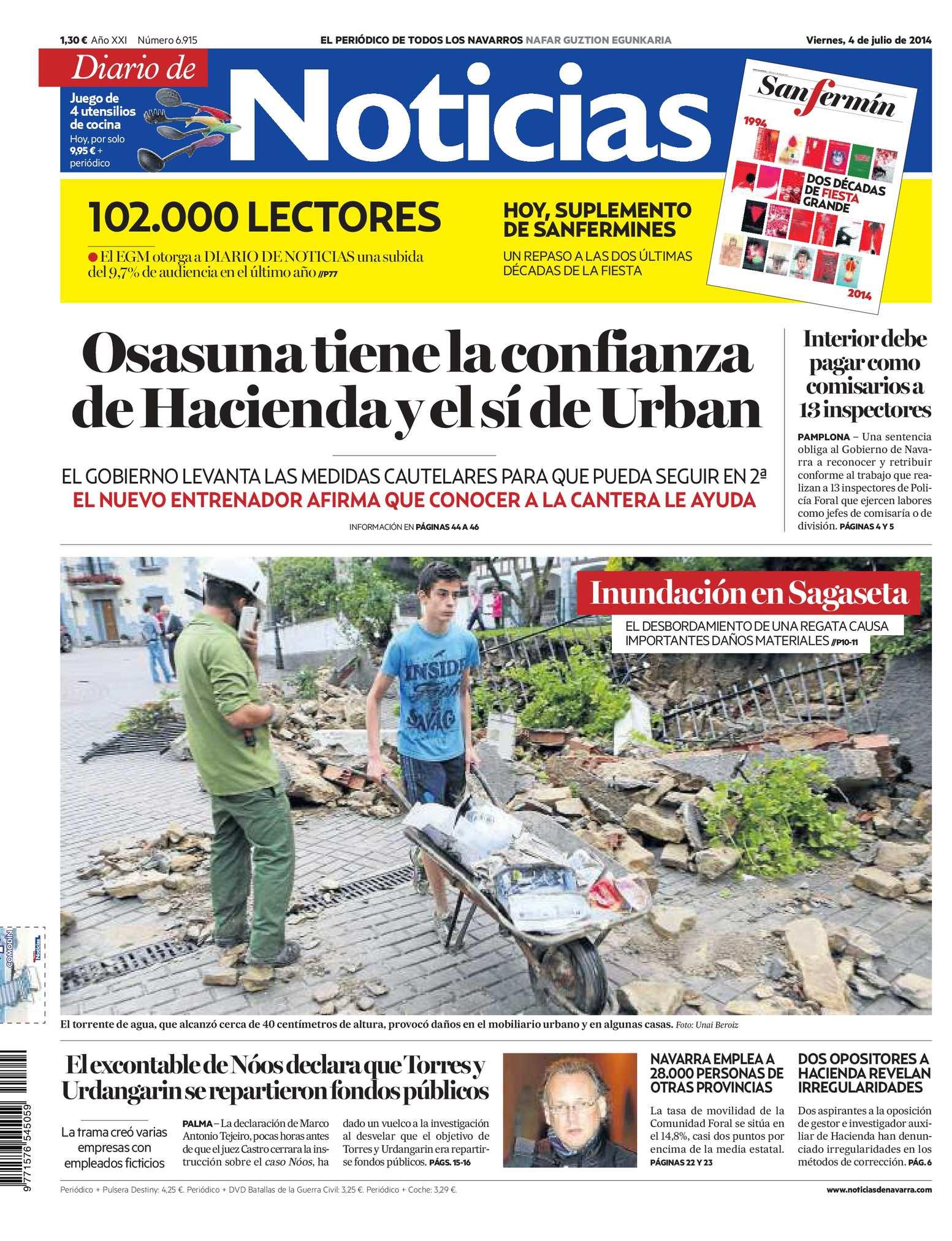 Calaméo - Diario de Noticias 20140704