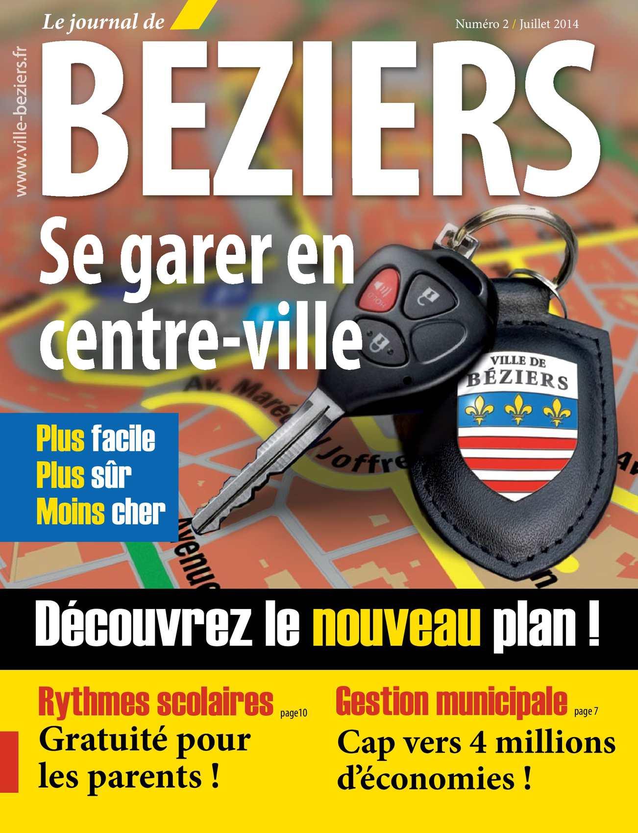 Calam O Journal De B Ziers Juillet Ao T Et Septembre 2014