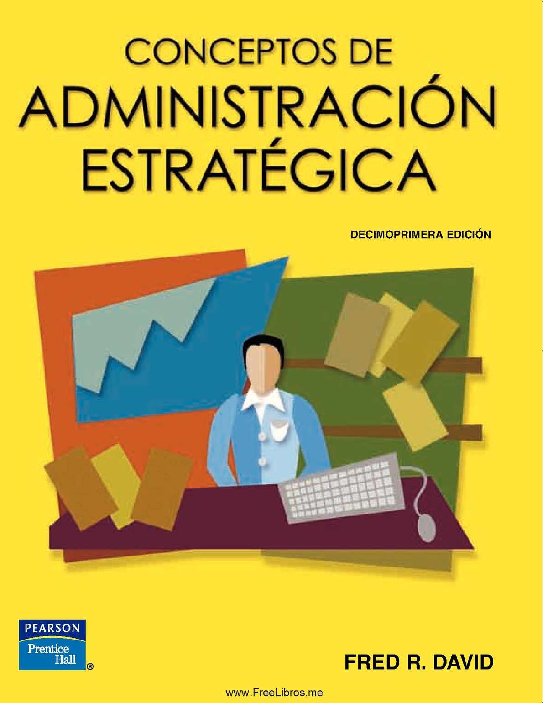 Calaméo - Conceptos de Administración Estratégica
