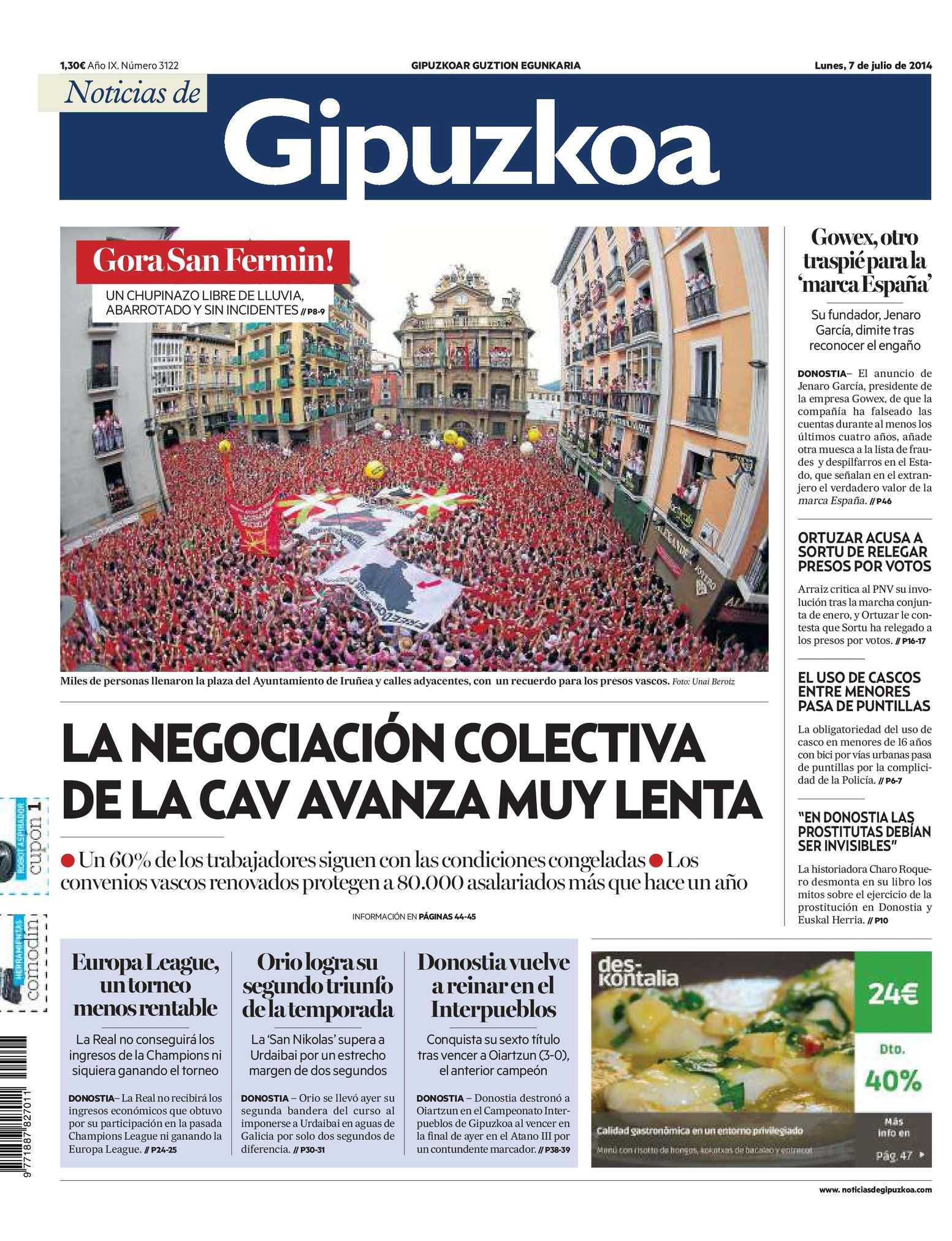 Calaméo - Noticias de Gipuzkoa 20140707