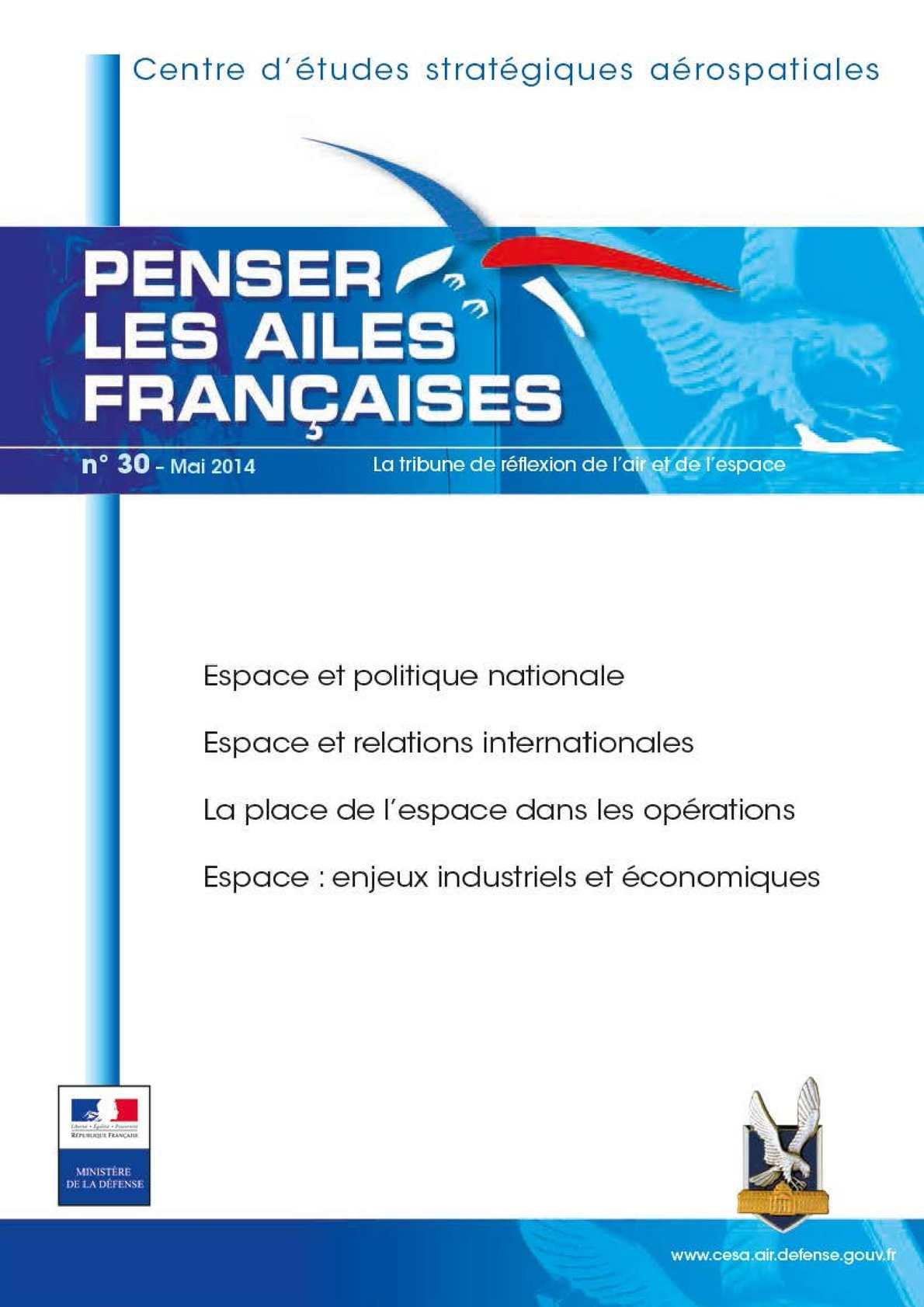 Penser les ailes françaises n°30 (mai 2014)