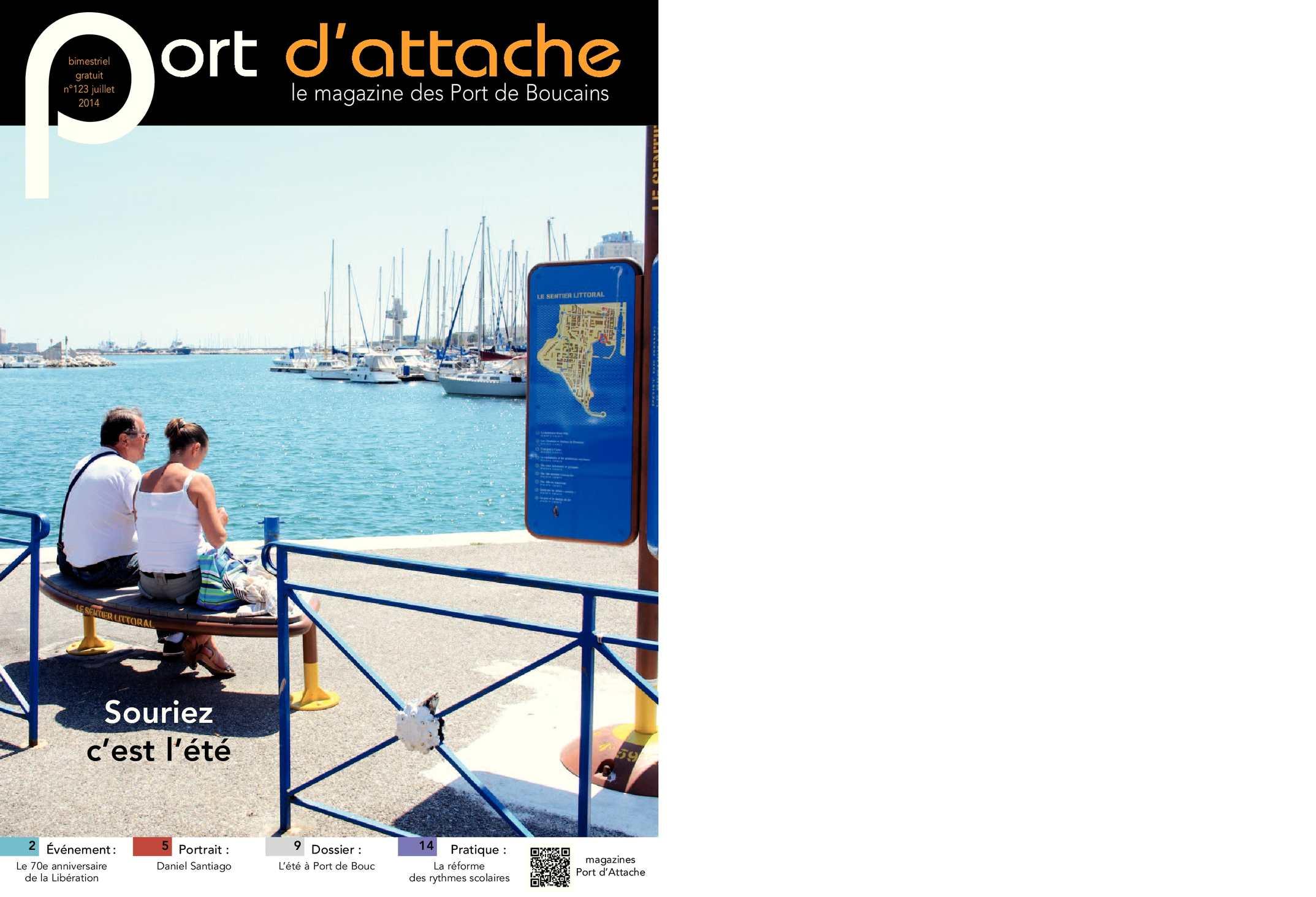 Calam o port d 39 attache n 123 juillet 2014 - Port de bouc d hier et d aujourd hui ...