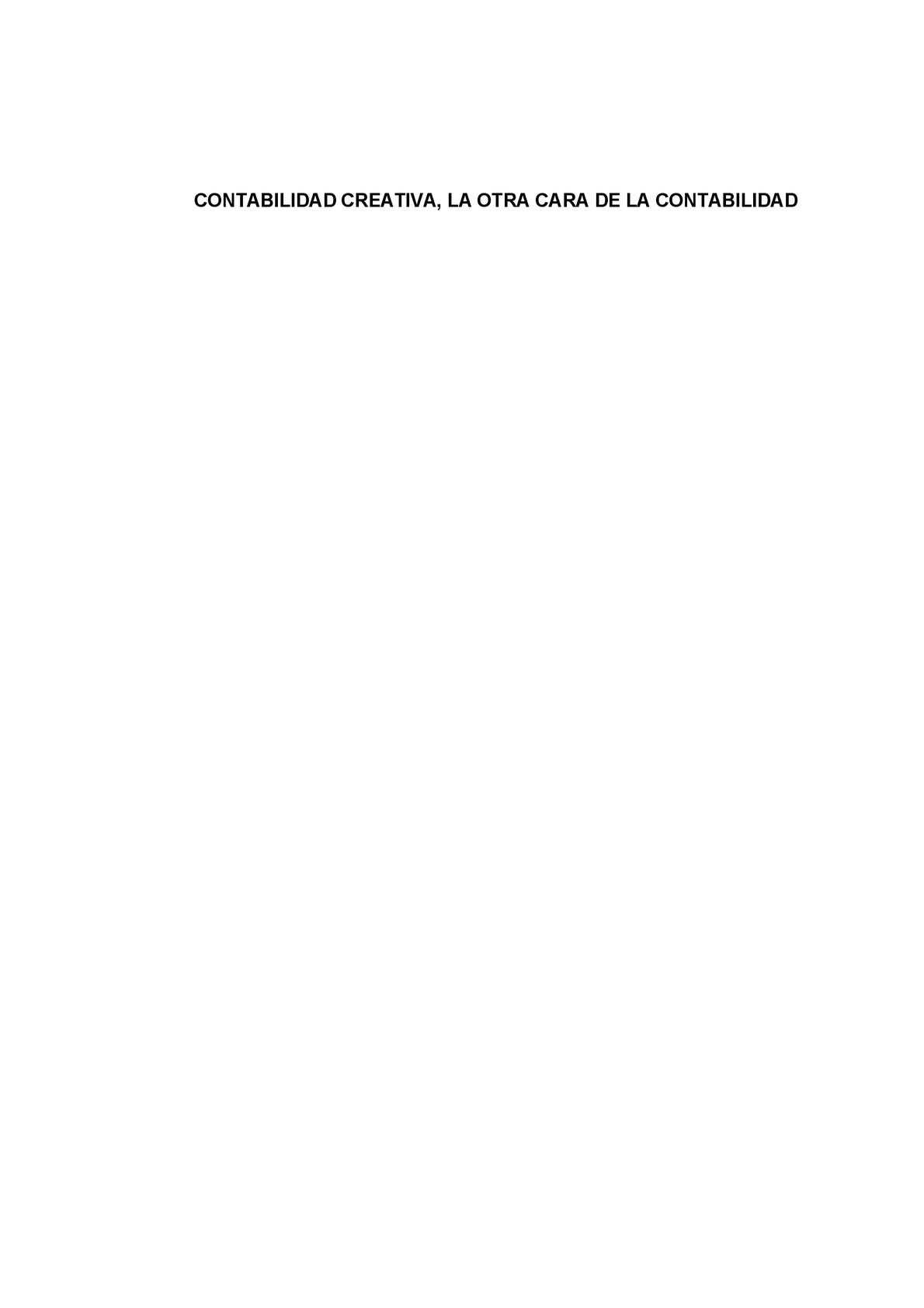 Calaméo - Contabilidad Creativa, La otra cara de la Contabilidad