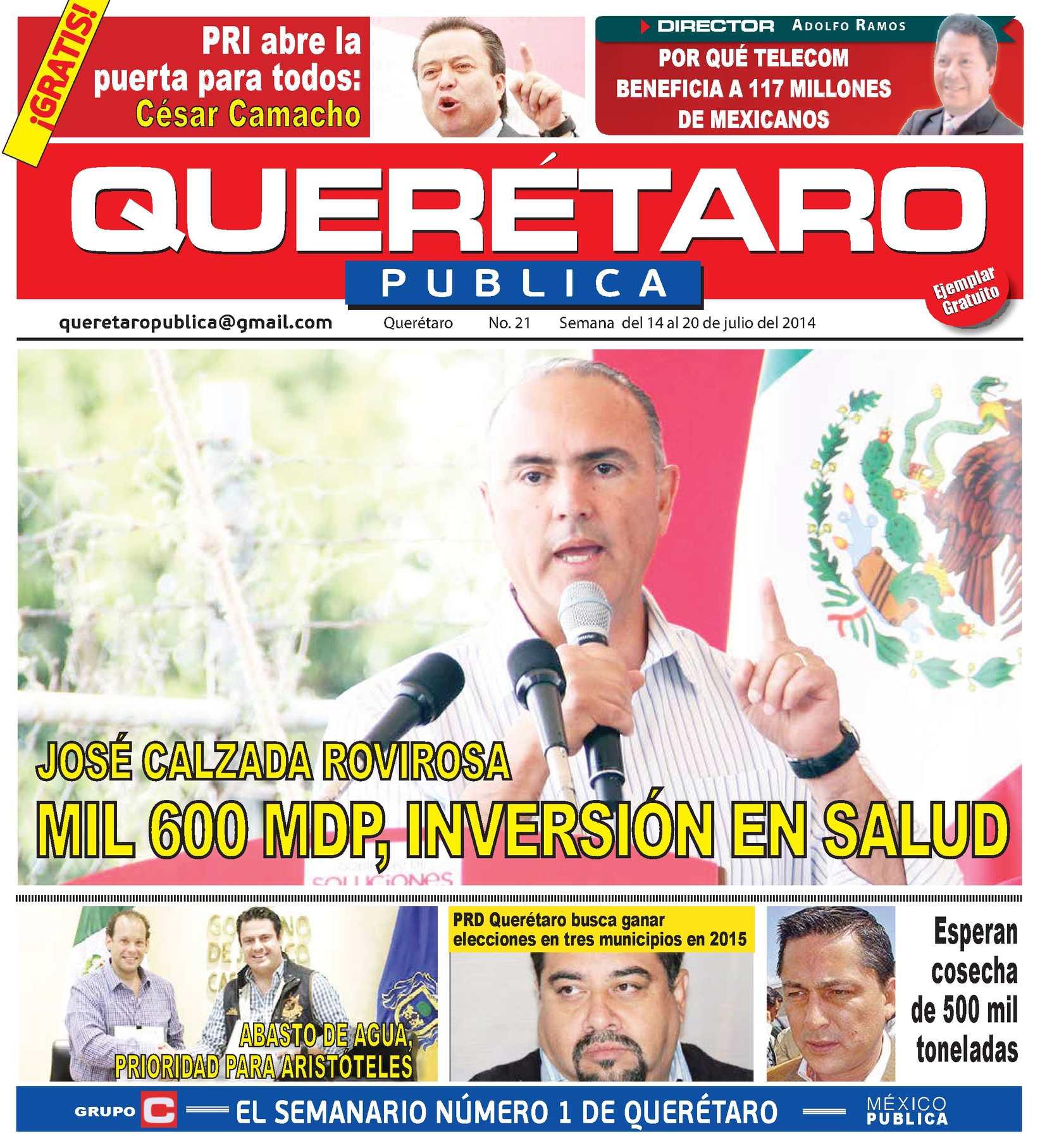 Calaméo - QUERETARO PUBLICA 21 WEB