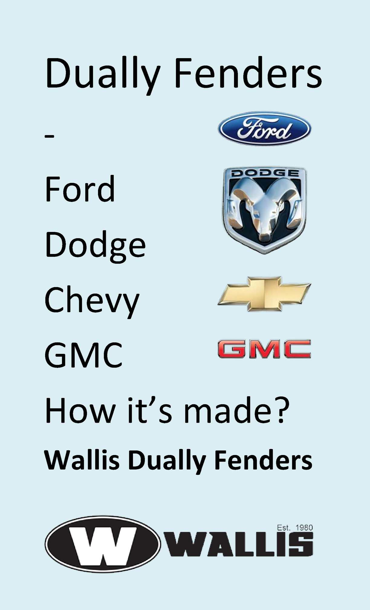 Ford Dually Fenders Craigslist >> Calaméo - Dually Fenders for Ford, Dodge, Chevy, GMC