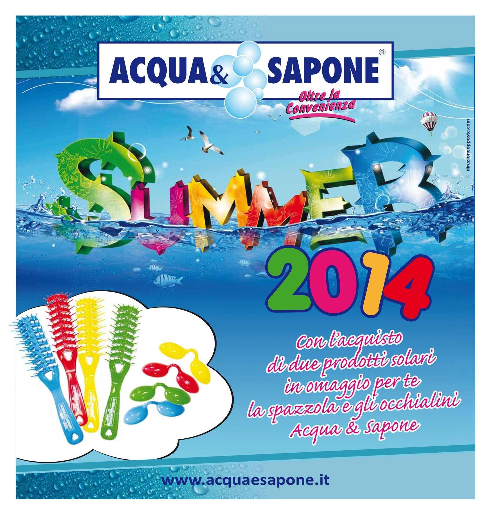 Calam o volantino acqua e sapone sicilia 16lug 2ago for Nuovo volantino acqua e sapone sicilia