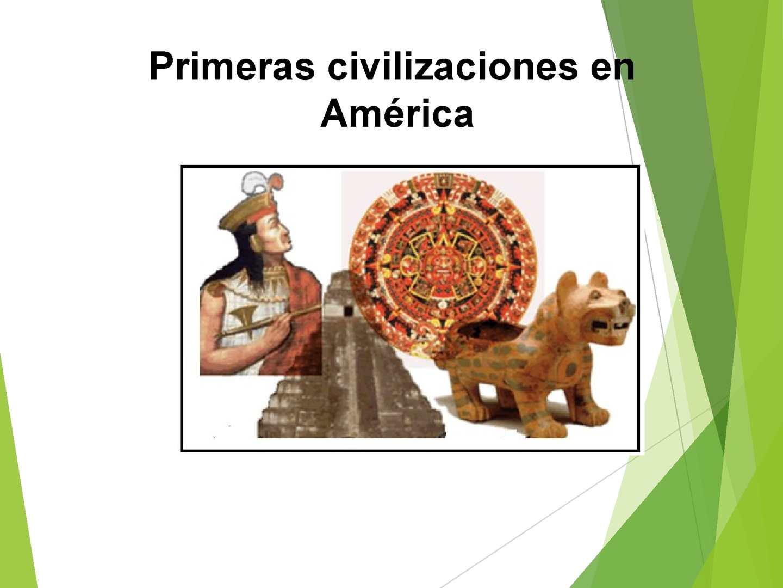 Civilizaciones Mayas,Aztecas e Incas