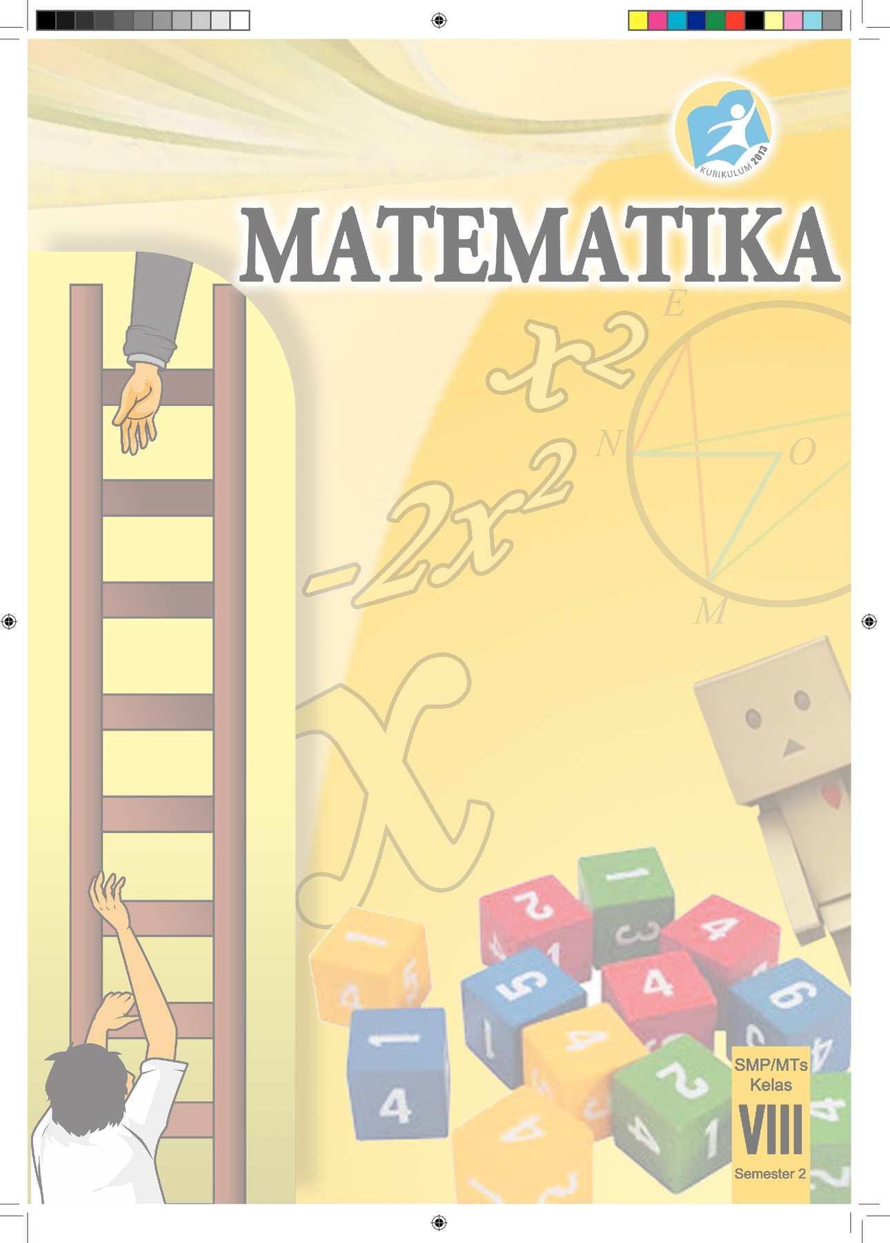 Calaméo buku pegangan siswa matematika smp kelas 8 semester 2 kurikulum 2013