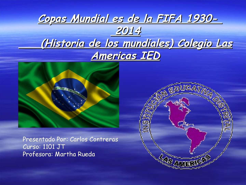 Calaméo - Copa Mundial de la FIFA Brasil 2014 1101 cc
