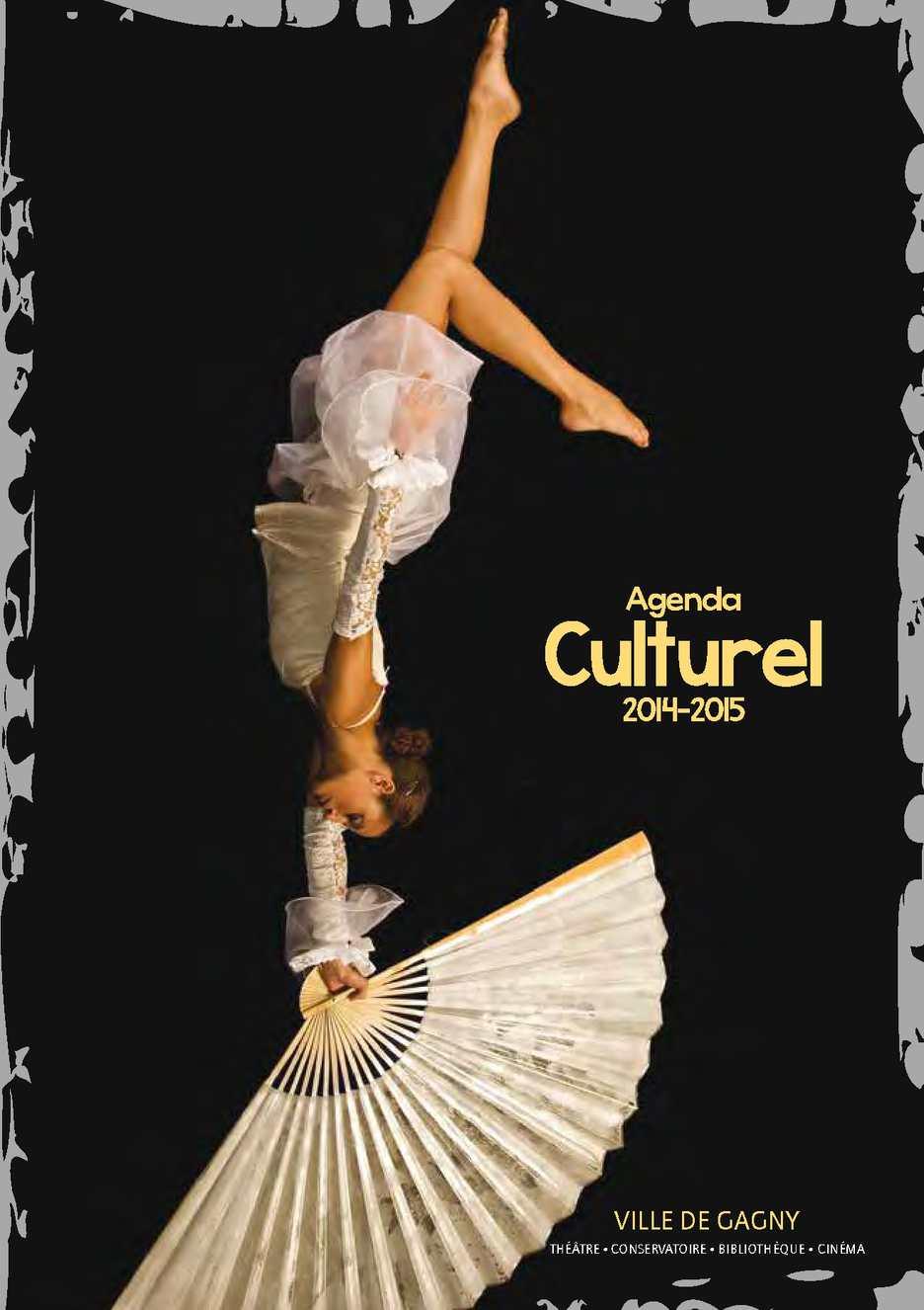Calam o agenda culturel 2014 2015 ville de gagny for Piscine de gagny