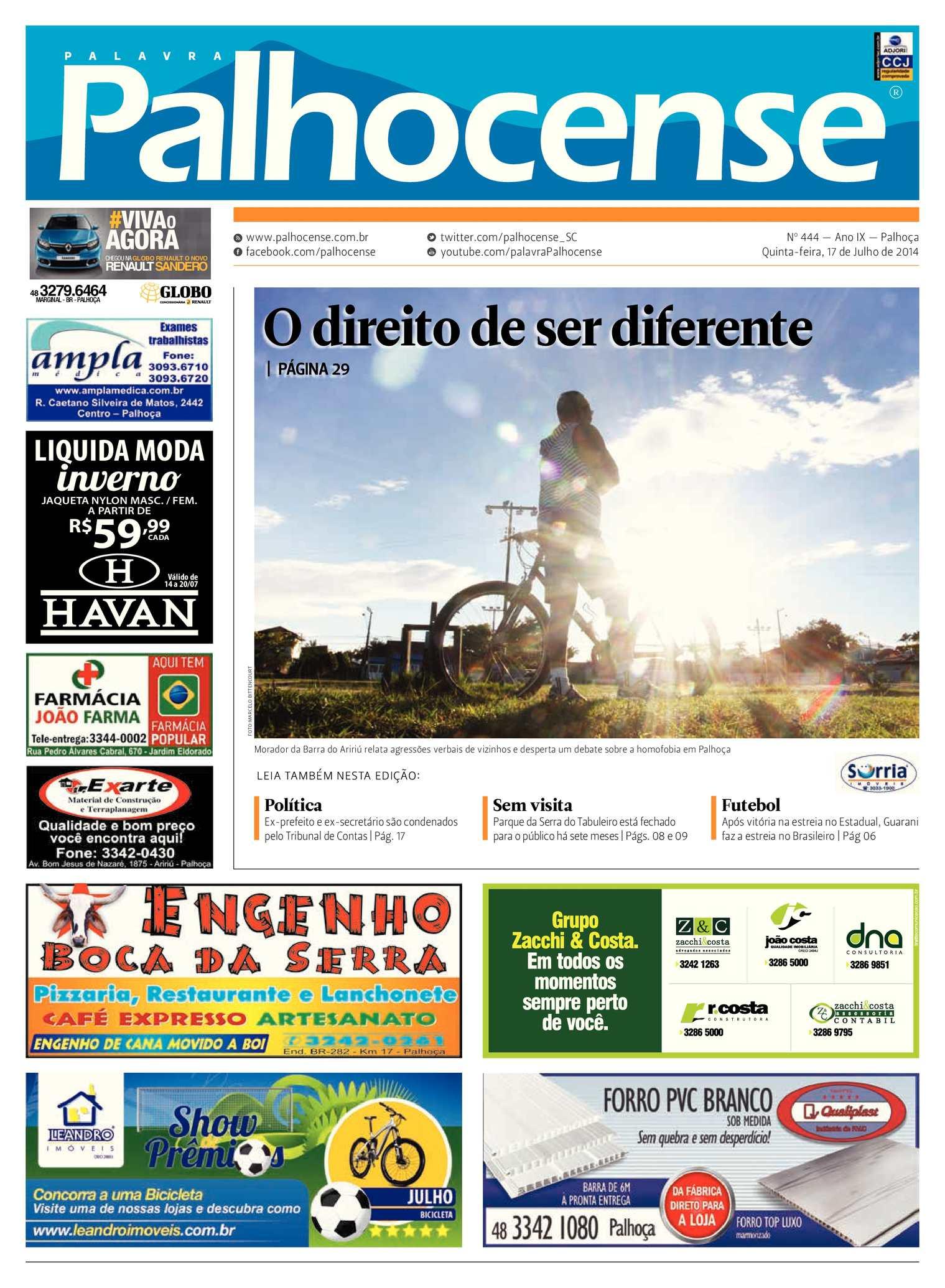 Calaméo - Jornal Palavra Palhocense - Edição 444 4cb96d8a8476d
