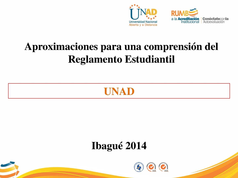 Reglamento Estudiantil - VIACI - 2014