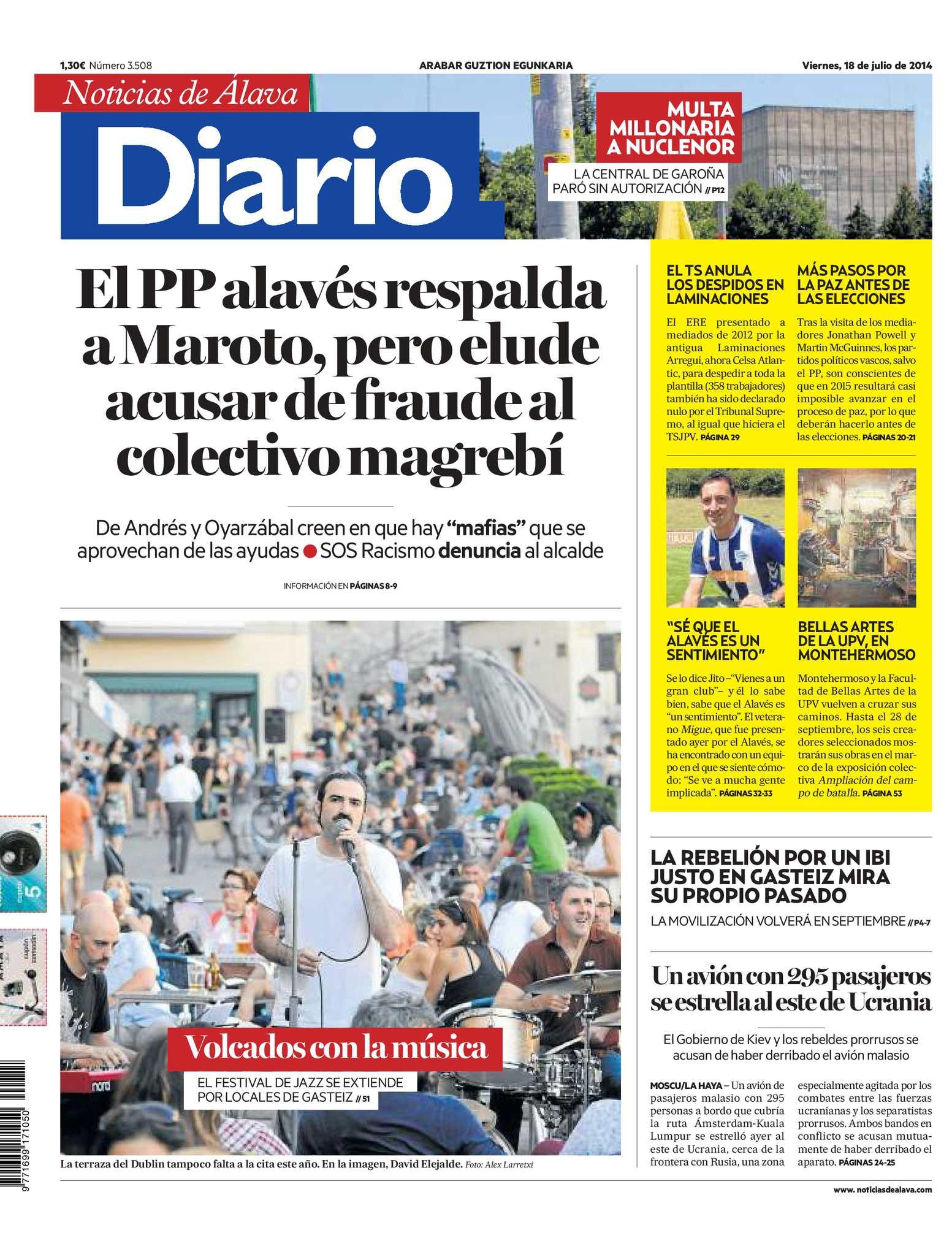 Calaméo - Diario de Noticias de Álava 20140718