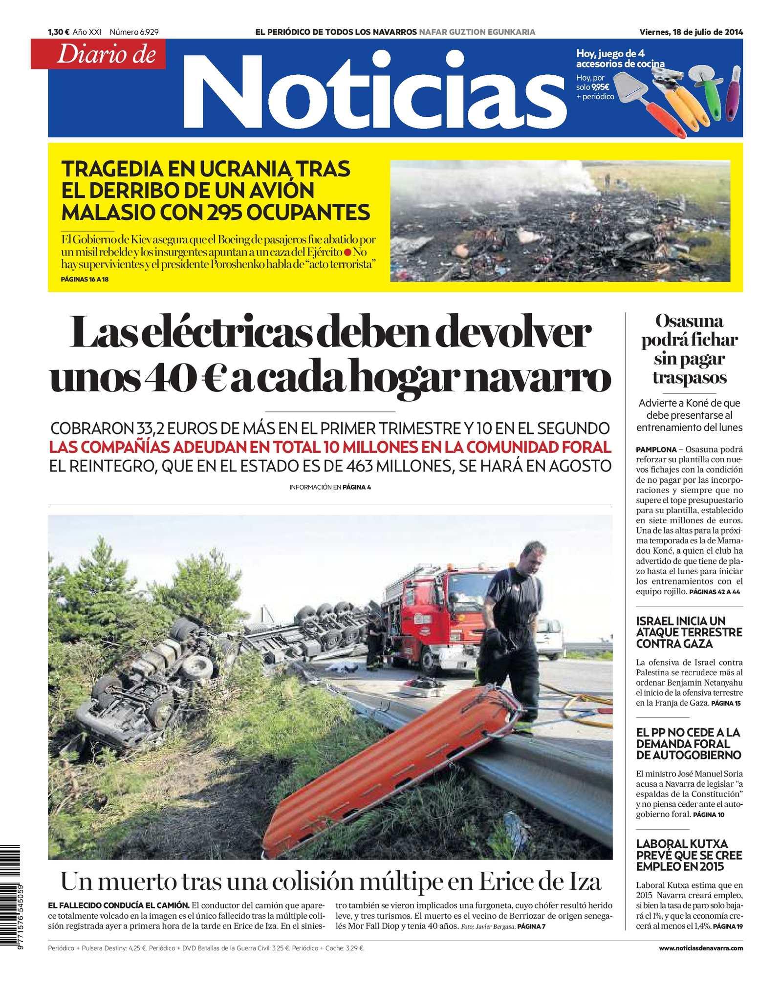 Calaméo - Diario de Noticias 20140718