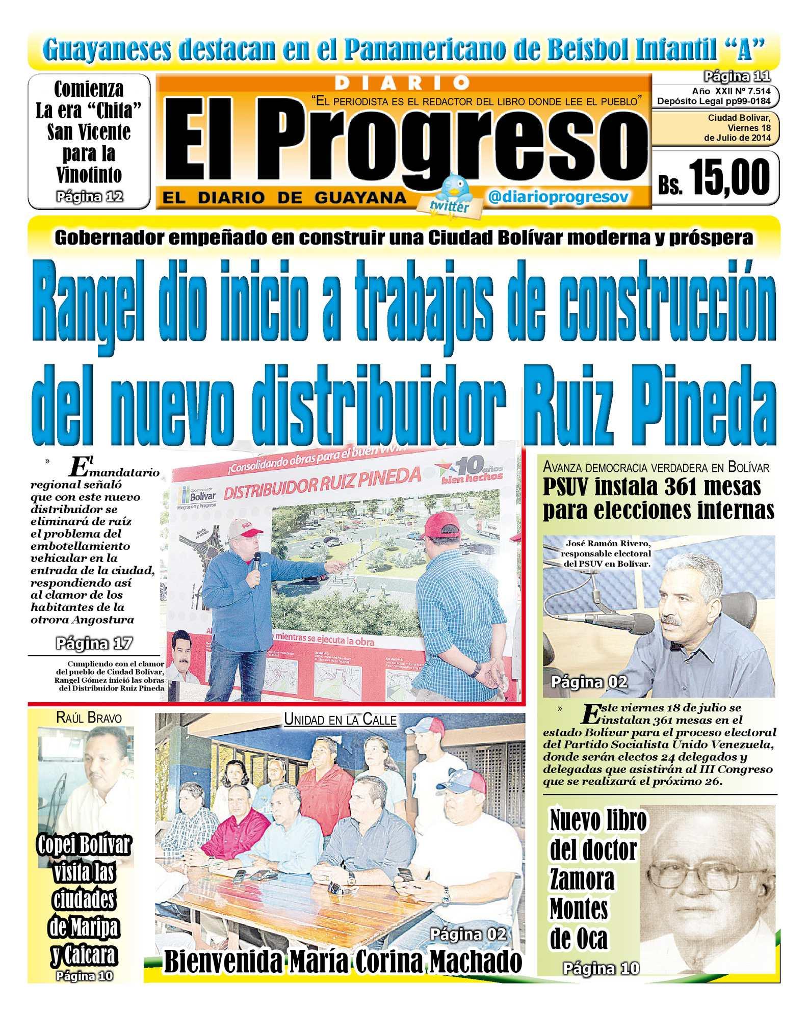 Calaméo - DIARIO EL PROGRESO EDICIÓN DIGITAL 18-07-2014