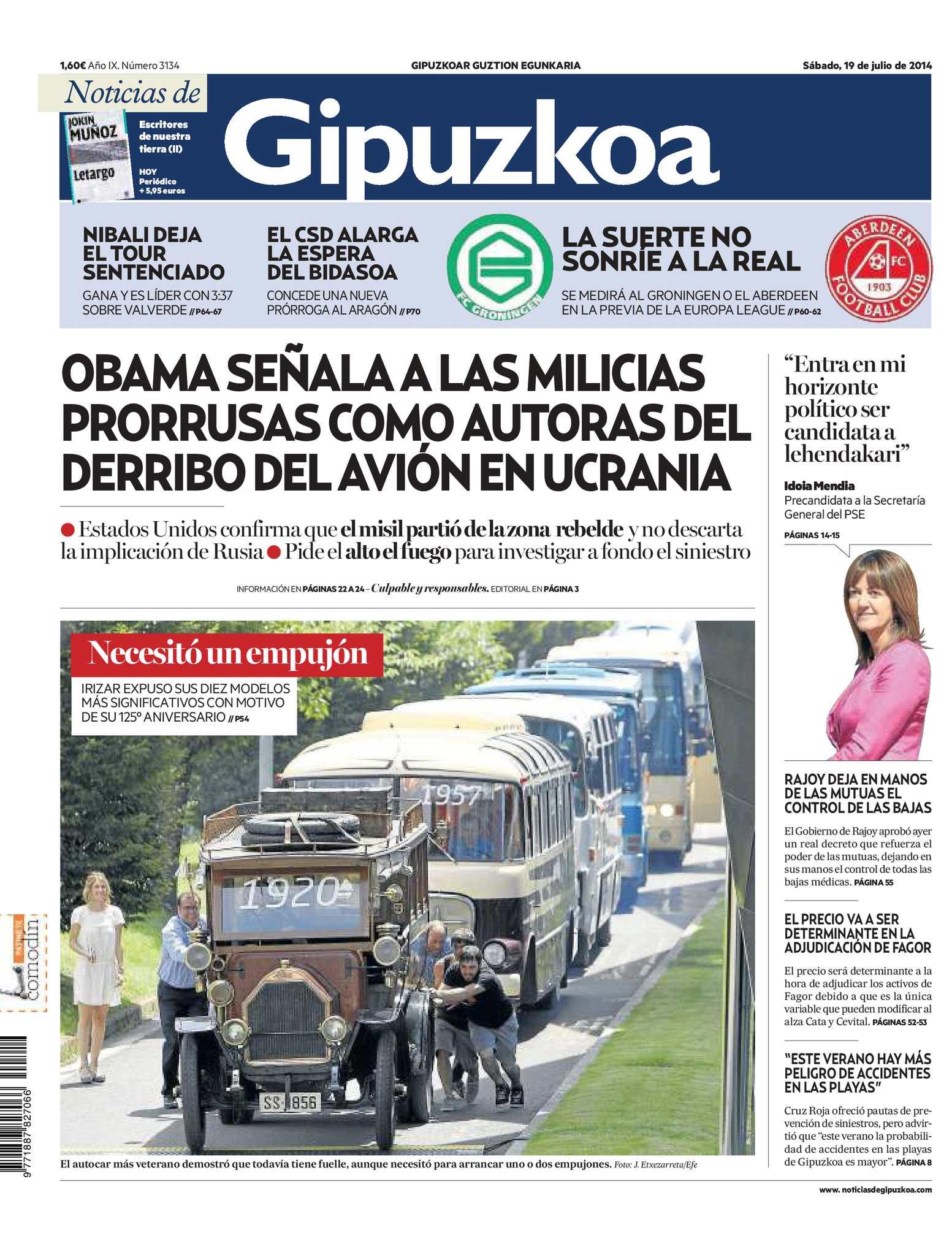 Calaméo - Noticias de Gipuzkoa 20140719