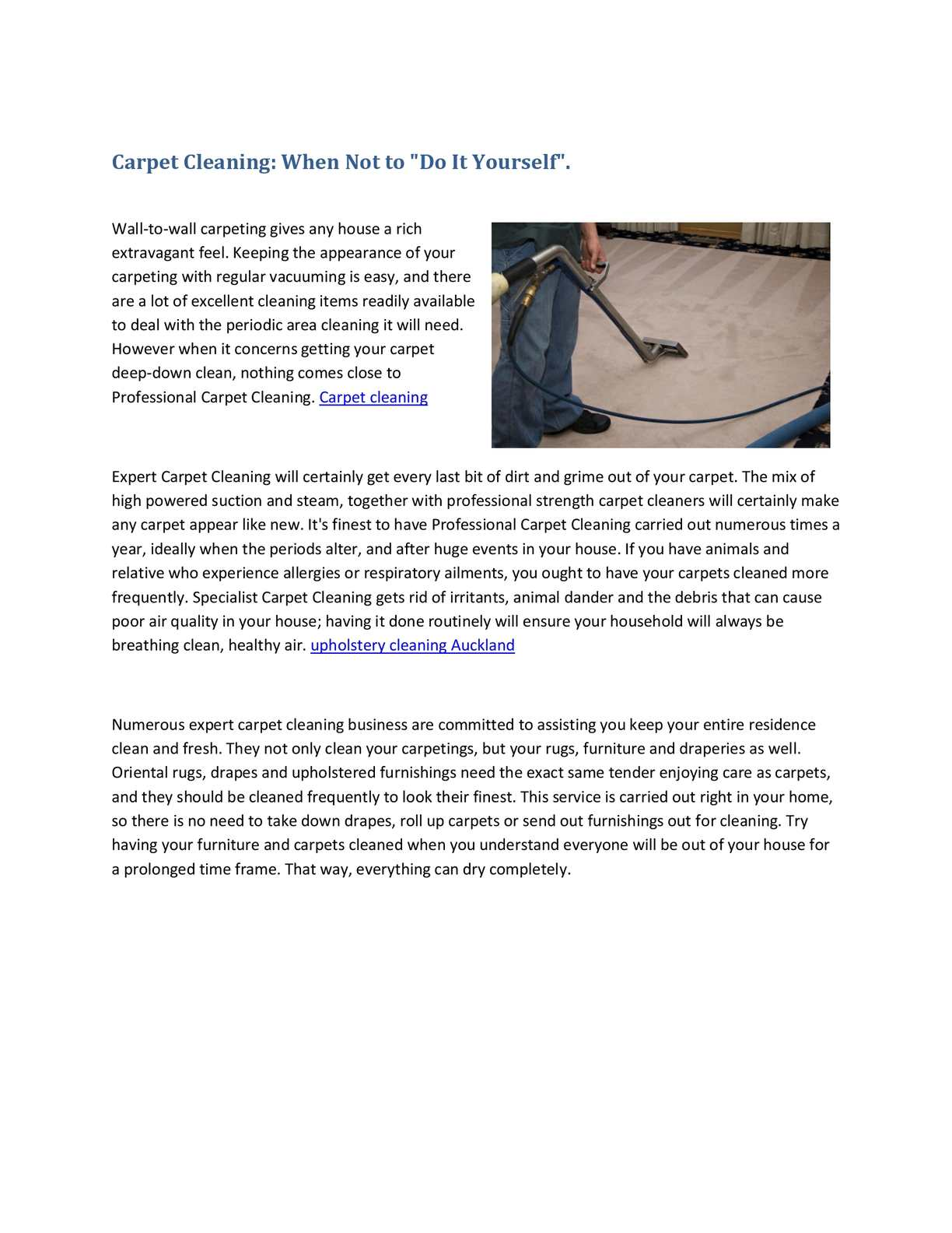 Calamo carpet cleaning when not to do it yourself solutioingenieria Gallery