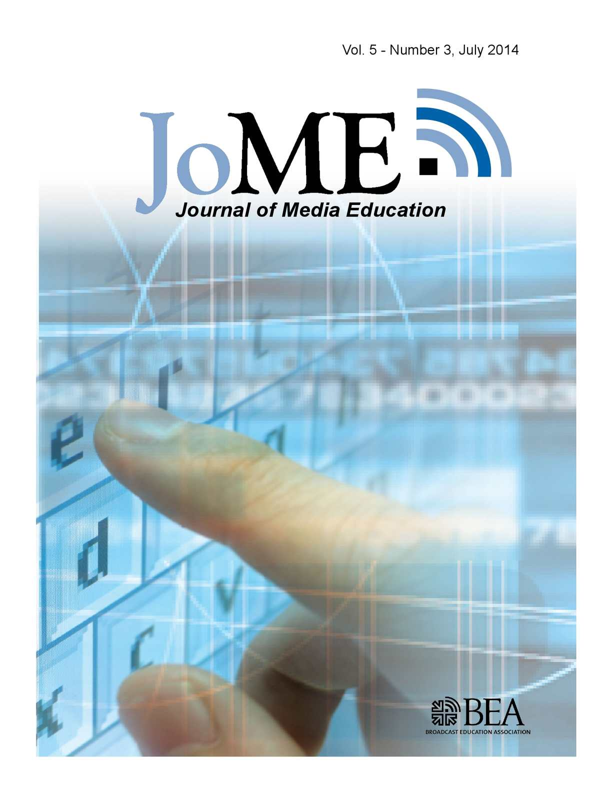 Calaméo - Journal of Media Education | July 2014