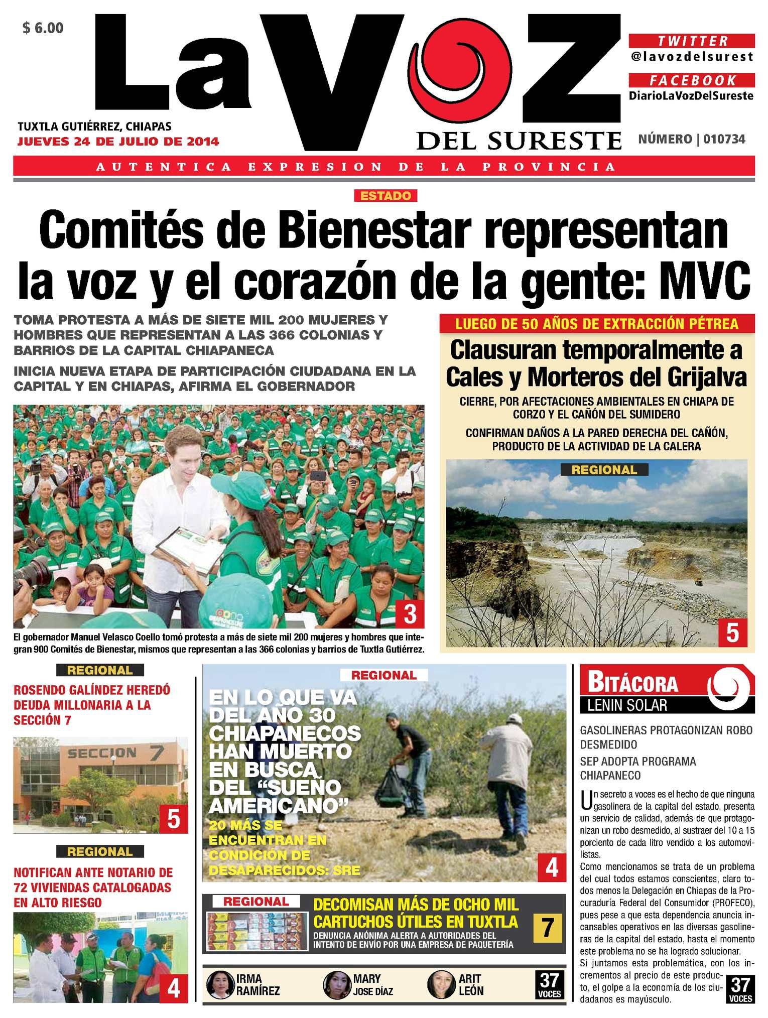 Calaméo - Diario La Voz del Sureste 6c5294b5e21f2