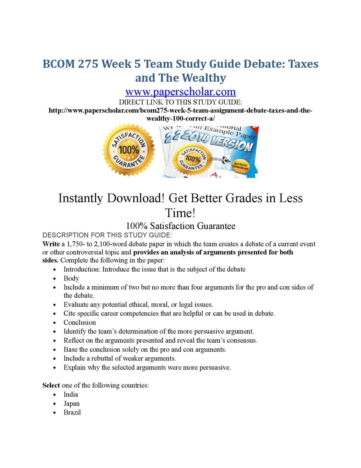 week two study guide Or visit wwwhwcampuscom mgt 312 week 2 knowledge check study guide 1 emily is an 7 rhythms inc and beats inc are two music institutes set to launch at the same time this year rhythms has been providing detailed information in the papers and on the internet about the courses it offers.